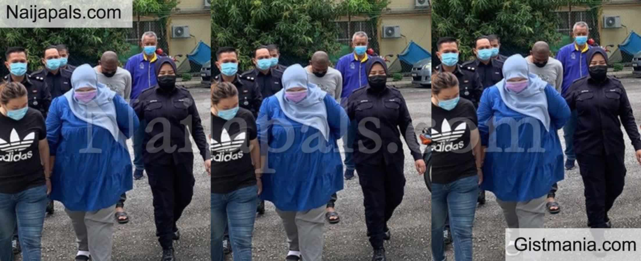 <img alt='.' class='lazyload' data-src='https://img.gistmania.com/emot/comment.gif' /> <b>Nigerian Student, Nwaokori Patrick Arrested In Malaysia For Duping Headmistress Of N12m</b>