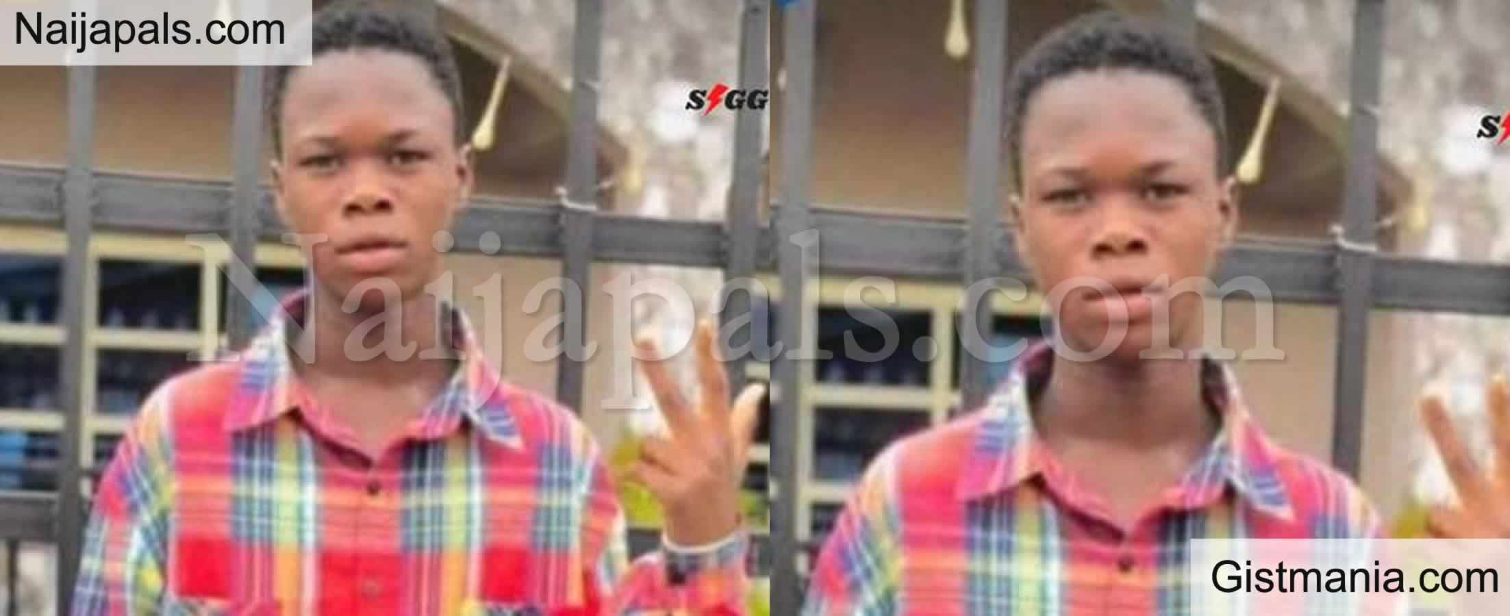 <img alt='.' class='lazyload' data-src='https://img.gistmania.com/emot/comment.gif' /> Secondary School Student, <b>Eriana  Stabbed For Picking Money Sprayed At Wedding In Delta State</b>