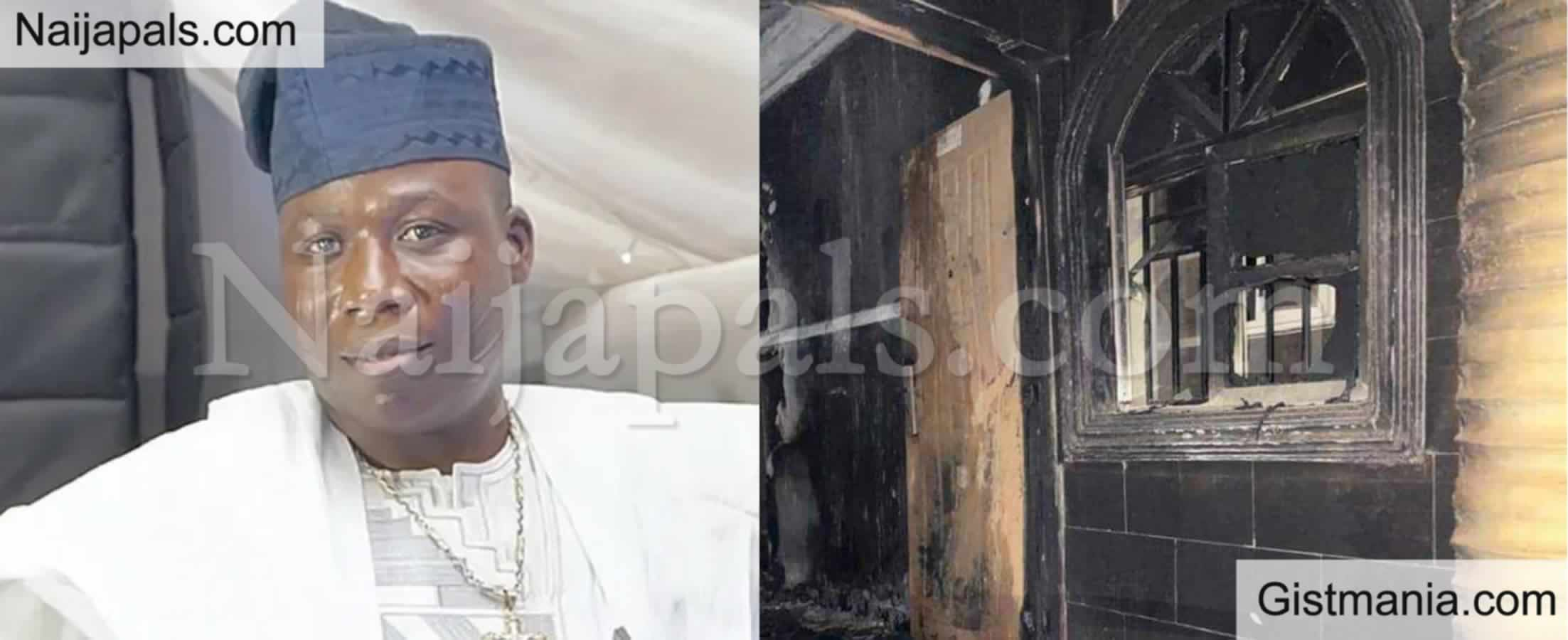 """<img alt='.' class='lazyload' data-src='https://img.gistmania.com/emot/comment.gif' /> Just In! <b>Sunday Igboho Speaks On His Razed House """"I Can't Blame Anyone Right Now""""</b>"""