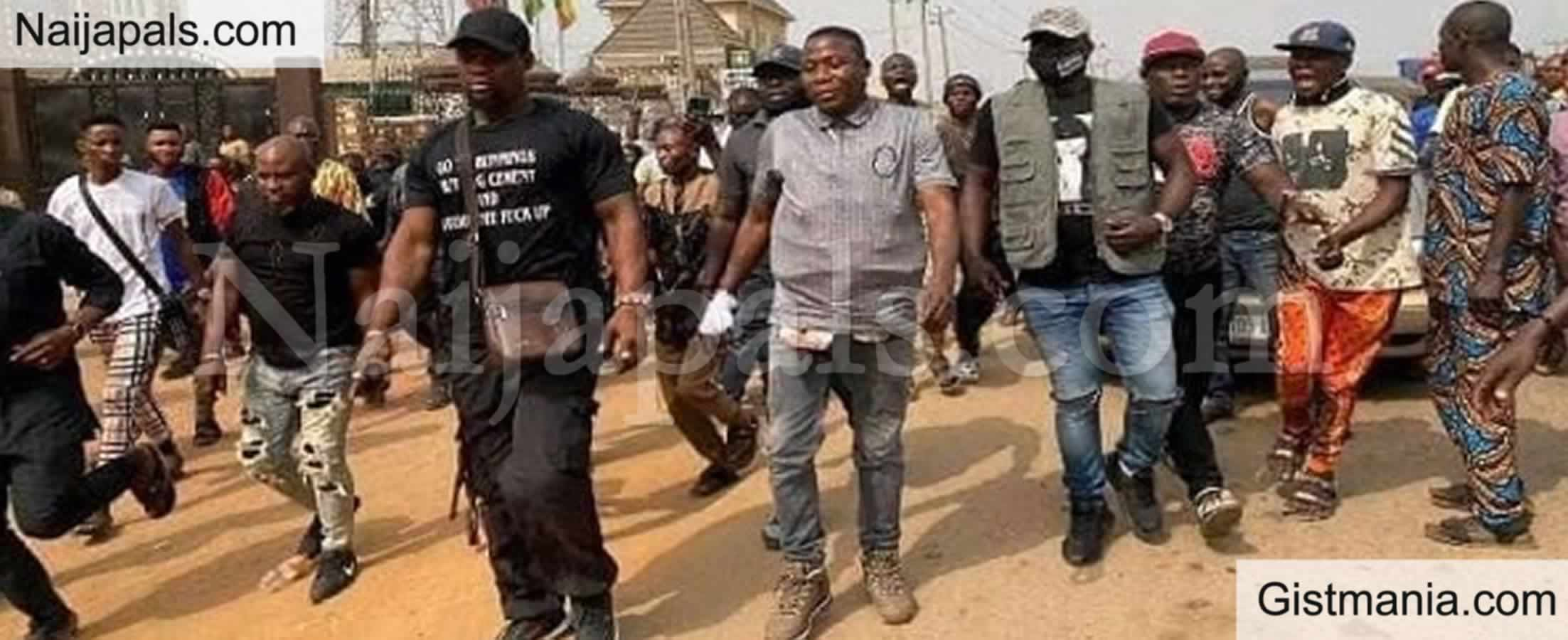 <img alt='.' class='lazyload' data-src='https://img.gistmania.com/emot/news.gif' /><b> Fulani Group Demand For Sunday Igboho's Arrest,</b> Seek For Compensation Sarkin Igangan