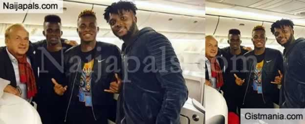 Super Eagles Depart For Singapore For Friendly Match Against Brazil