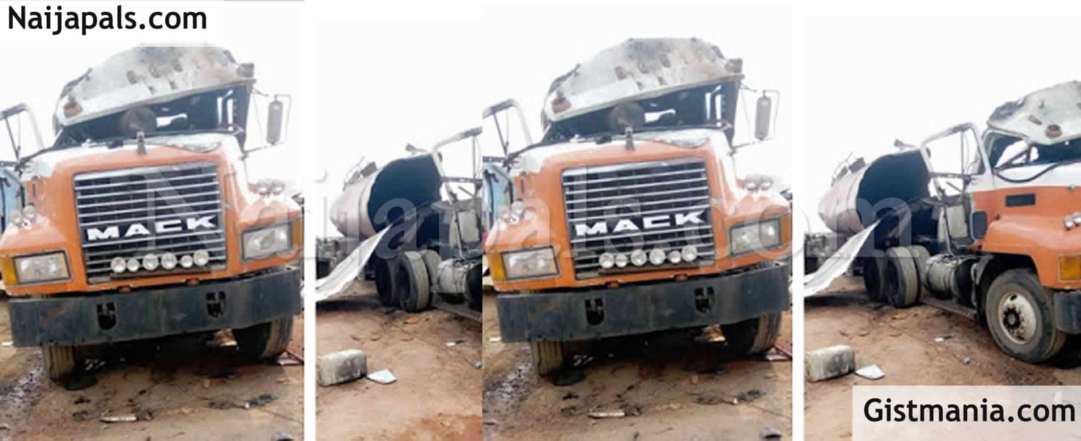 <img alt='.' class='lazyload' data-src='https://img.gistmania.com/emot/news.gif' /> <b>One Person Confirmed Dead As Fuel Tanker Explodes In Anambra</b>