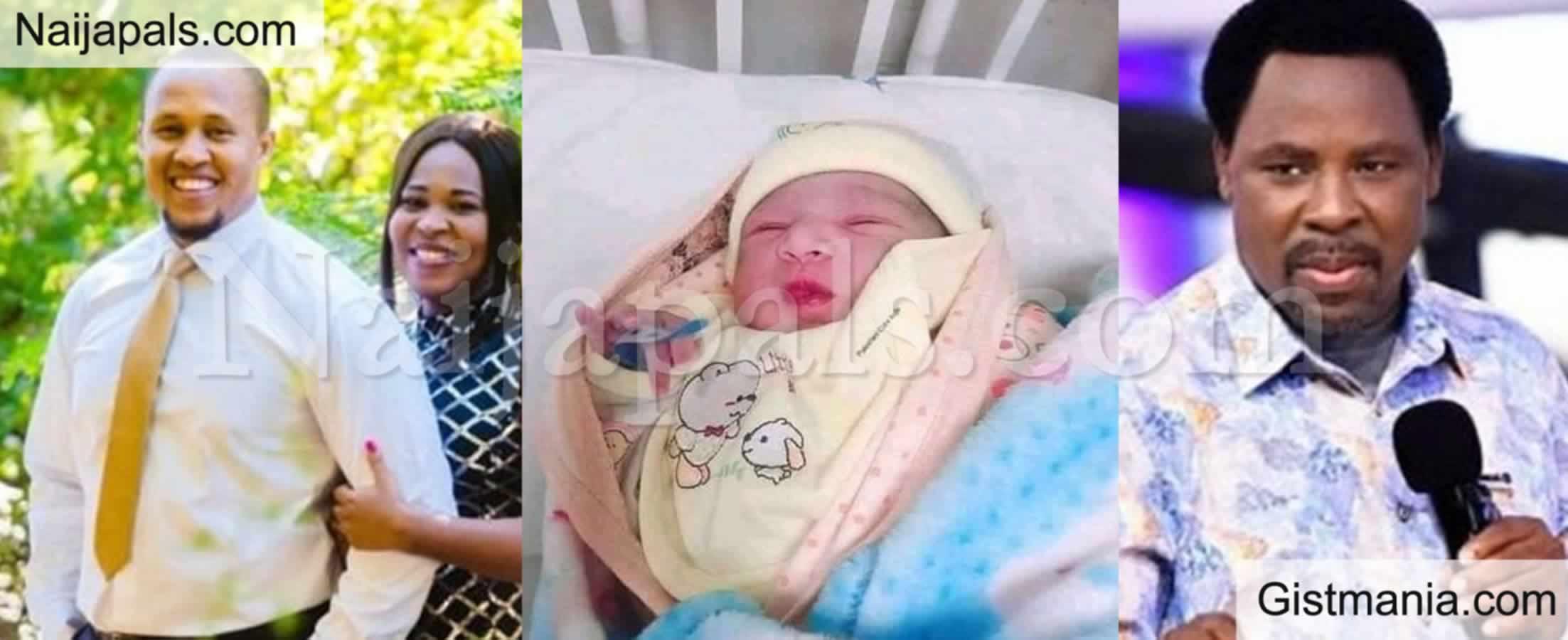 <img alt='.' class='lazyload' data-src='https://img.gistmania.com/emot/news.gif' /> <b>TB Joshua's Daughter Welcomes Baby Boy On Her Father's Birthday</b>