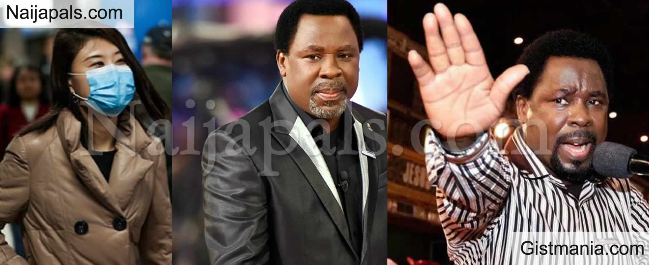 <img alt='.' class='lazyload' data-src='https://img.gistmania.com/emot/comment.gif' /> <b>I'm Ready to go to Isolation Centres to Pray For COVID-19 Patients</b> – Prophet T.B Joshua