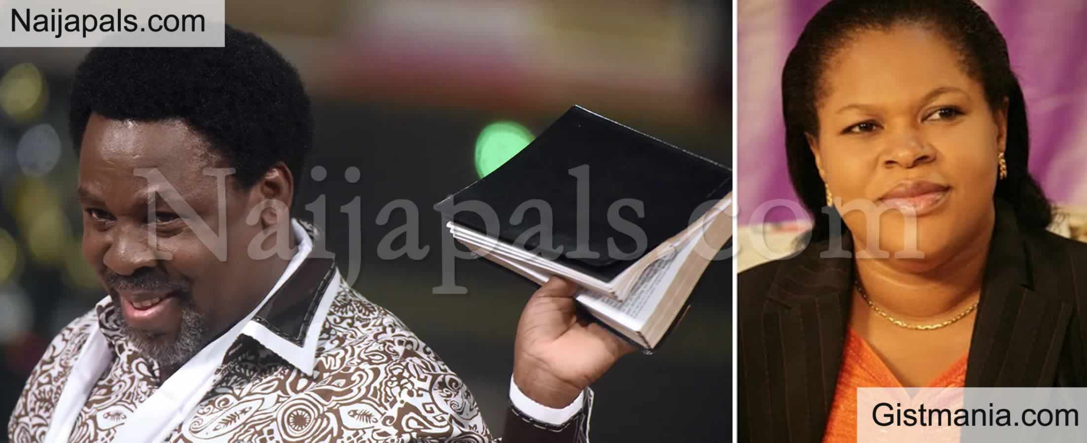 <img alt='.' class='lazyload' data-src='https://img.gistmania.com/emot/comment.gif' /> <b>TB Joshua's Wife Reportedly Named As His Successor By SCOAN Elders</b>