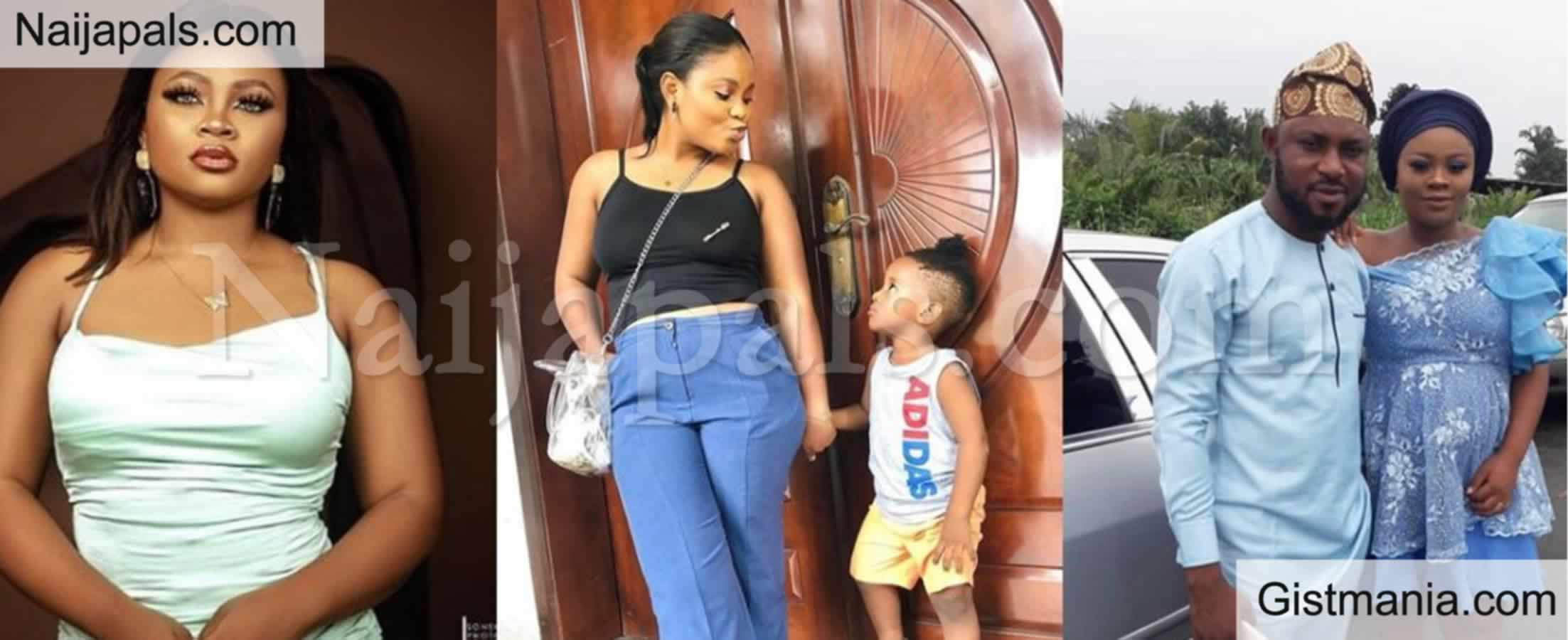 <img alt='.' class='lazyload' data-src='https://img.gistmania.com/emot/photo.png' /> <b>Lovely Photos Of BBN Housemate, Tega With Her Husband And Son</b>