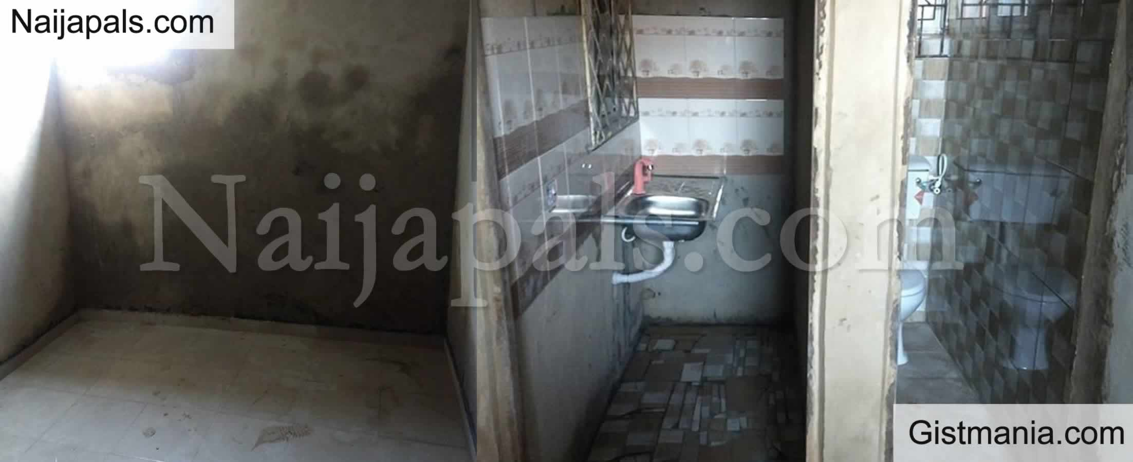 "<img alt='.' class='lazyload' data-src='https://img.gistmania.com/emot/comment.gif' /> <b>""When I'm Not A Prisoner""</b> - Prospective Tenant Shares Photos Of A House Up For Rent In Lagos"