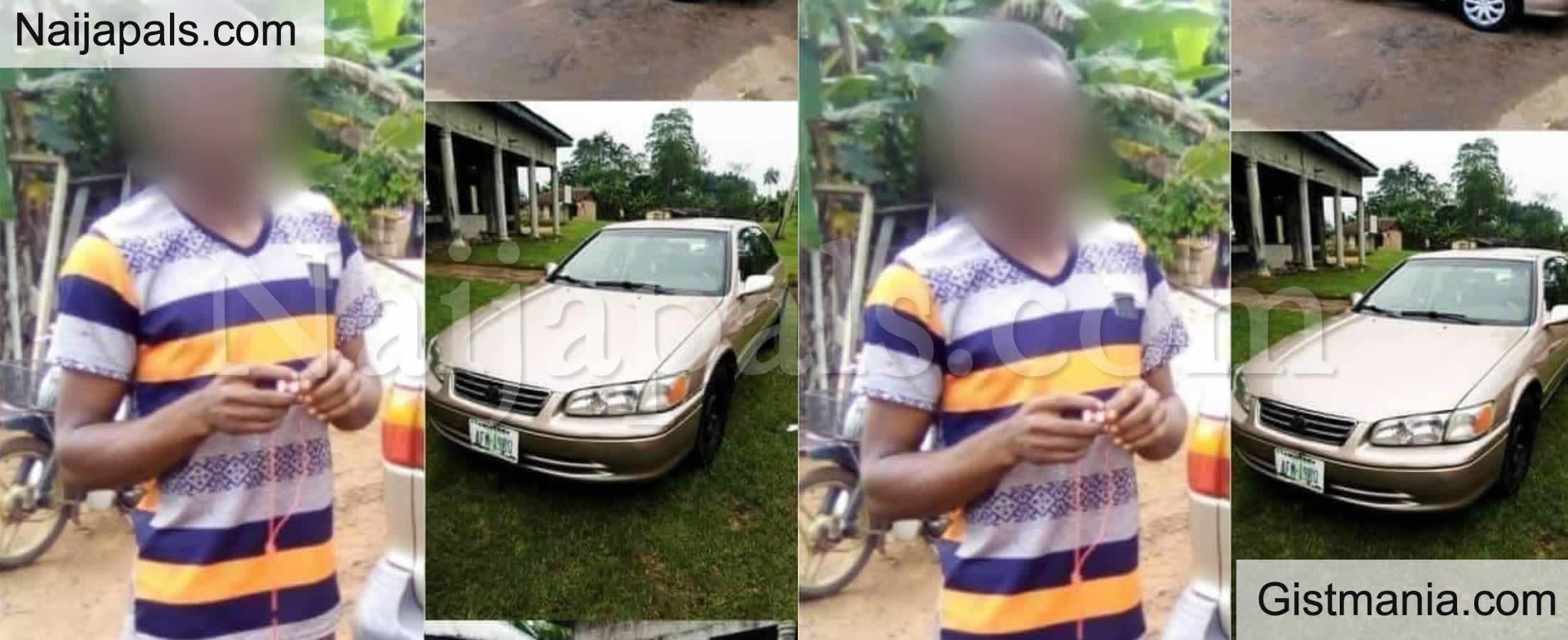 <img alt='.' class='lazyload' data-src='https://img.gistmania.com/emot/shocked.gif' /> <b>How Roadside Mechanic Reportedly Flee With Customer's Car After Claiming To Test Run It In Imo</b>