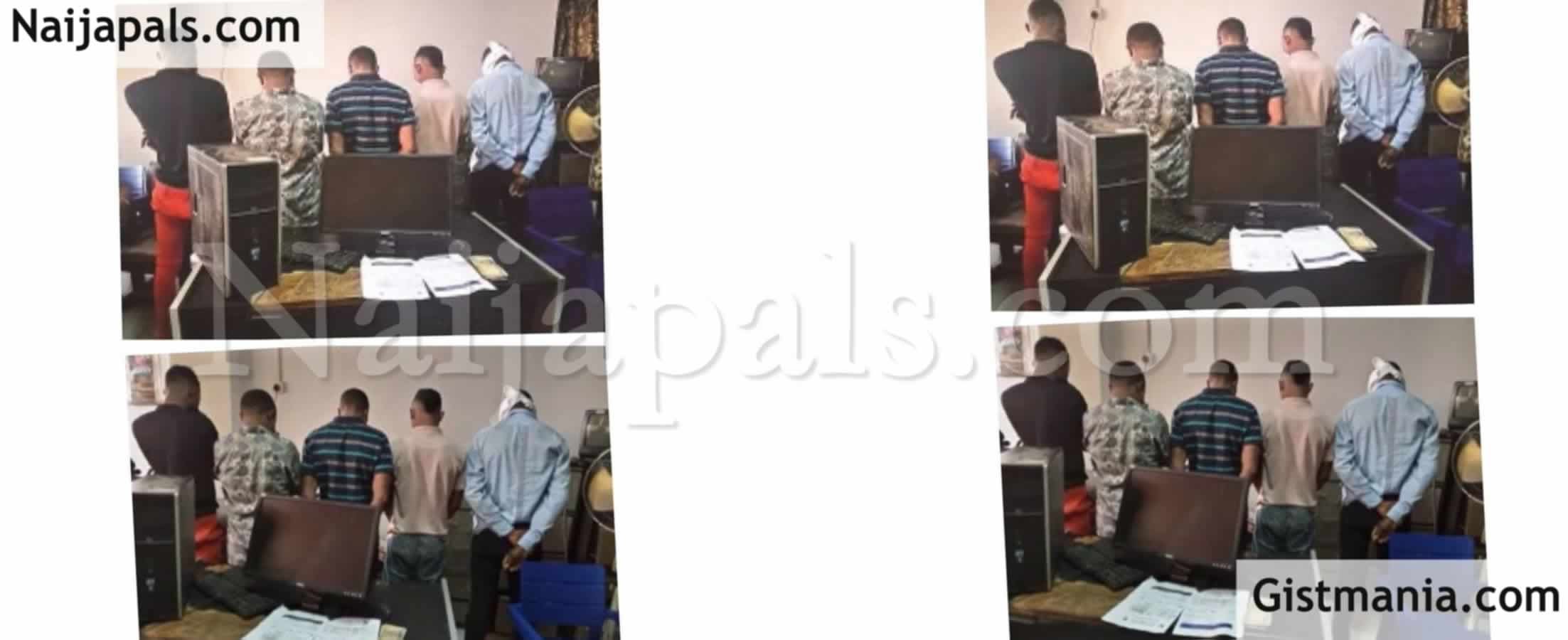 <img alt='.' class='lazyload' data-src='https://img.gistmania.com/emot/news.gif' /> <b>Five People Arrested For Selling Fake COVID-19 Certificate To Travelers At The MMIA, Lagos</b>