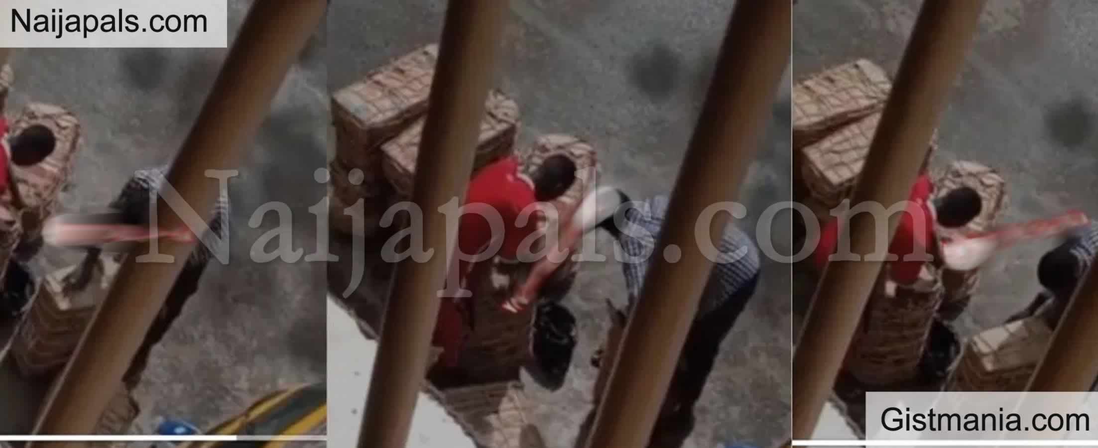 <img alt='.' class='lazyload' data-src='https://img.gistmania.com/emot/shocked.gif' /> <b>Secret Camera Captures Two Delivery Men Stealing From Customers' Packages in Enugu</b> (VID)