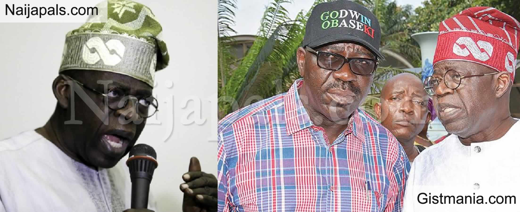 <img alt='.' class='lazyload' data-src='https://img.gistmania.com/emot/comment.gif' /> <b>We are brothers Says Oshiomhole As He Makes Peace With Gov Obaseki</b>