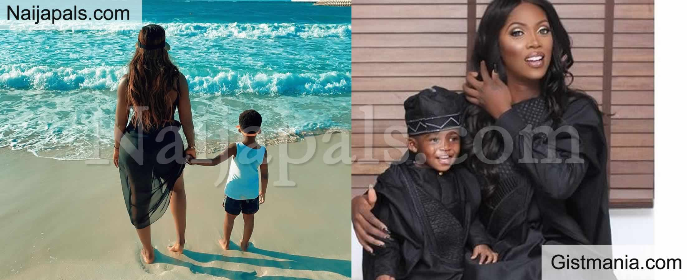 <img alt='.' class='lazyload' data-src='https://img.gistmania.com/emot/love.gif' /><b>Tiwa Savage's Son Jamil Gets Cash Reward From Tooth Fairy (Video)</b>