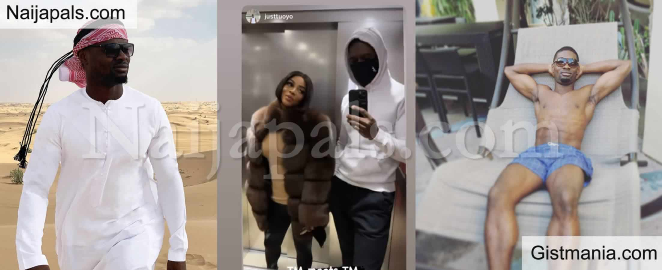 <img alt='.' class='lazyload' data-src='https://img.gistmania.com/emot/love.gif' /> <b>OAP, Toke Makinwa Shows Off Her New Man In Lovely Romantic Photos</b>