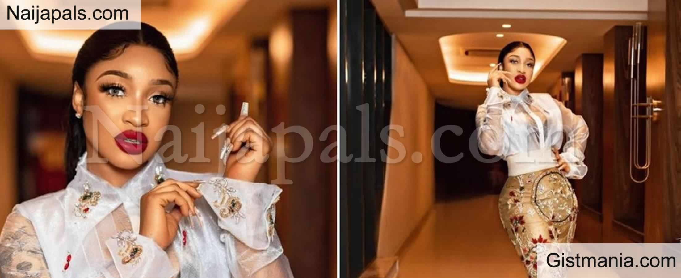 """<img alt='.' class='lazyload' data-src='https://img.gistmania.com/emot/comment.gif' /><b> """"If You Have A Report Of Me On Drugs, I Would Gladly Show Up"""" </b>Tonto Dikeh Tells NDLEA"""