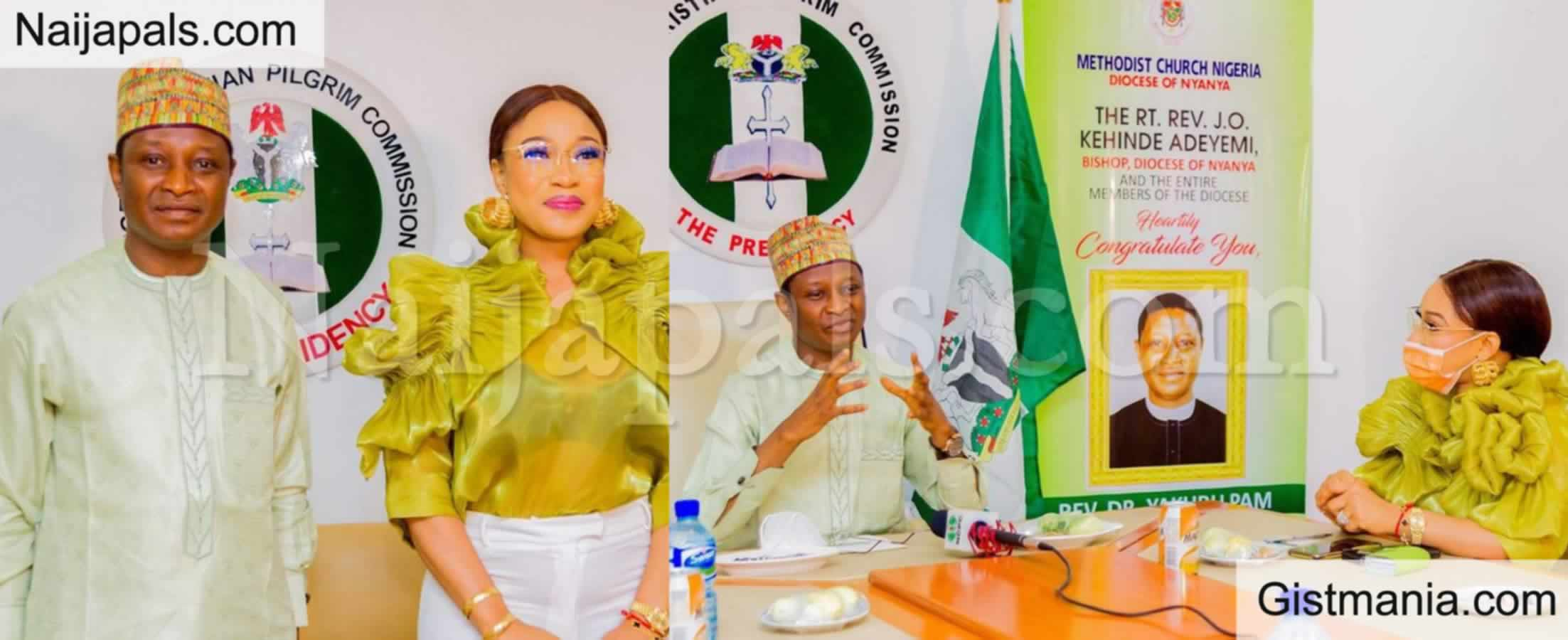 <img alt='.' class='lazyload' data-src='https://img.gistmania.com/emot/thumbs_up.gif' /><b>Actress Tonto Dikeh Becomes Ambassador Of Peace For NCPC</b>