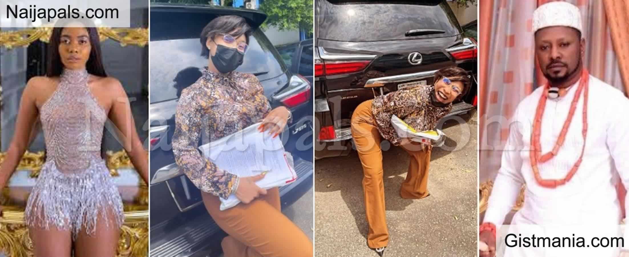 <img alt='.' class='lazyload' data-src='https://img.gistmania.com/emot/video.gif' /> Video: <b>Actress, Tonto Dikeh Mocks Janemena, Flaunts Lexus SUV She Seized From Kpokpogri</b>