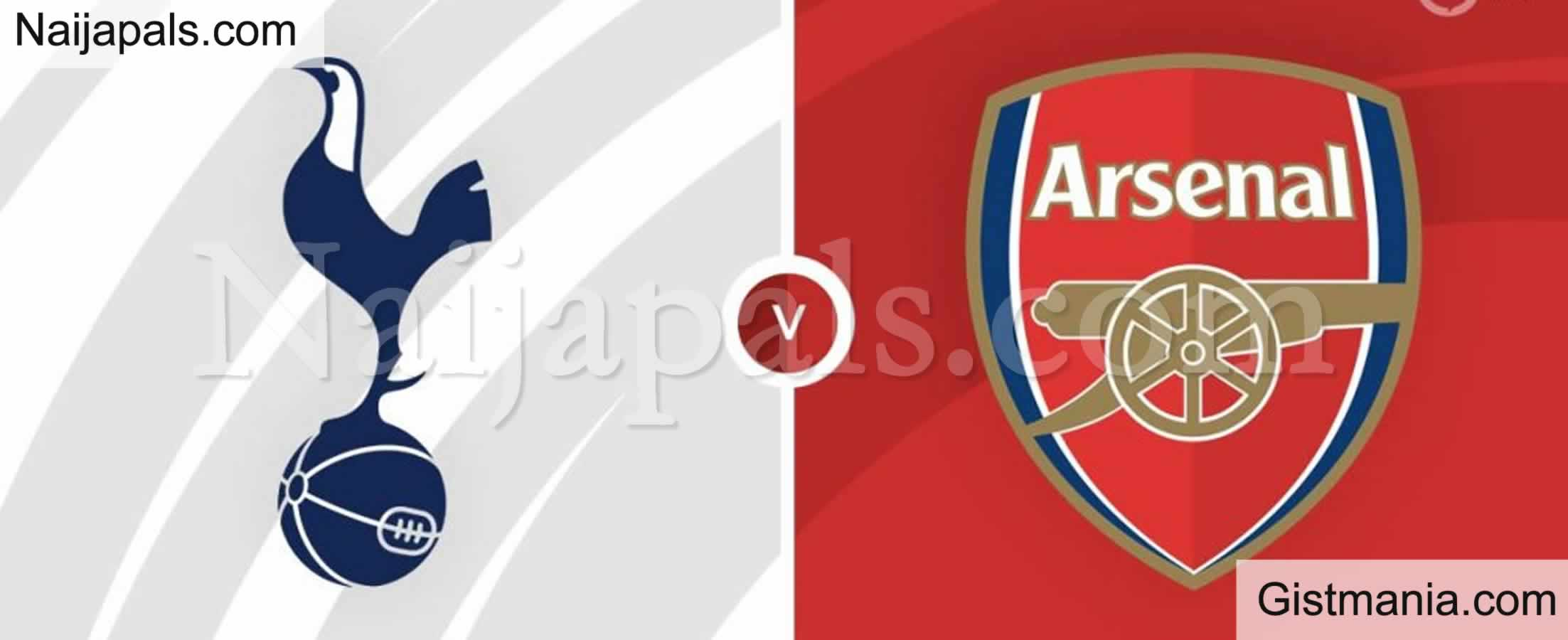 <img alt='.' class='lazyload' data-src='https://img.gistmania.com/emot/soccer.gif' /> <b>Tottenham v Arsenal : English Premier League Match, Team News, Goal Scorers and Stats</b>