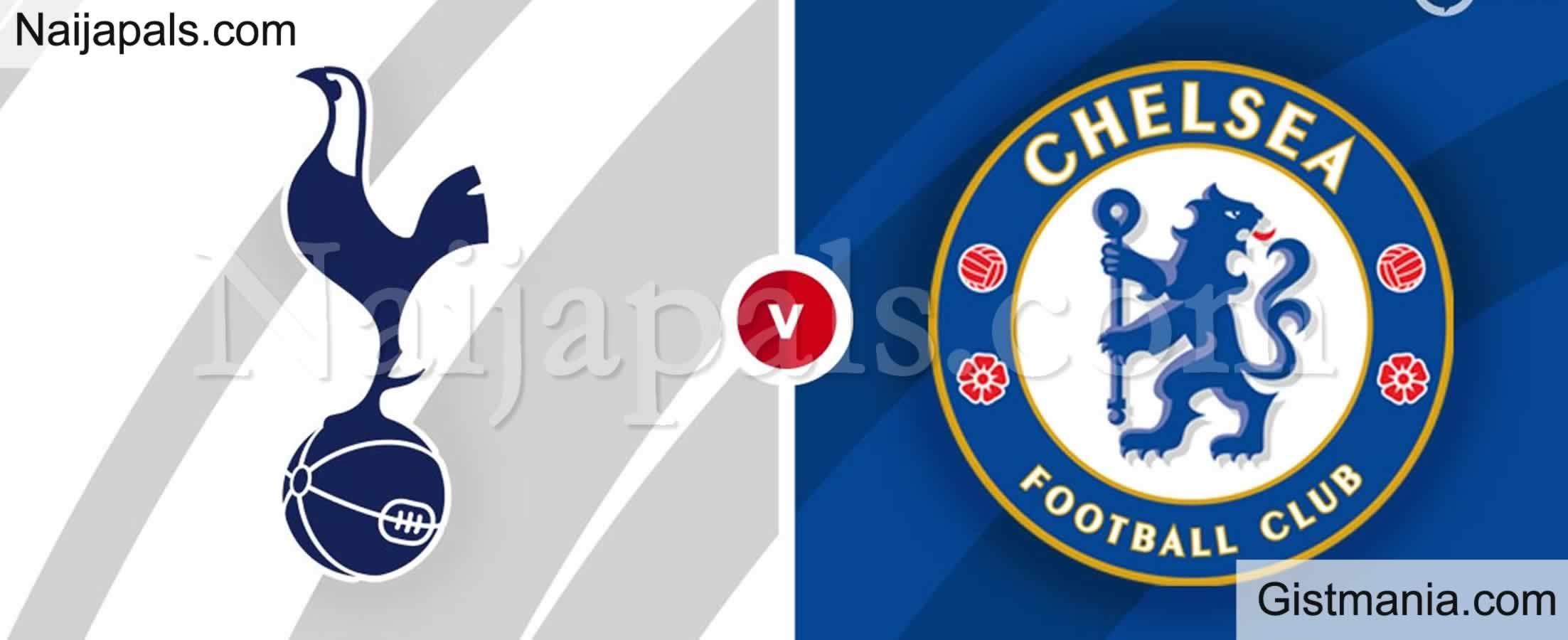 <img alt='.' class='lazyload' data-src='https://img.gistmania.com/emot/soccer.gif' /> <b>Tottenham Hotspur v Chelsea : English Premier League Match, Team News, Goal Scorers and Stats</b>