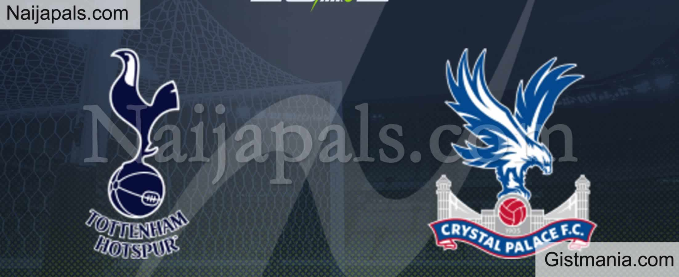 <img alt='.' class='lazyload' data-src='https://img.gistmania.com/emot/soccer.gif' /> <b>Tottenham v Crystal Palace : English Premier League Match, Team News, Goal Scorers and Stats</b>