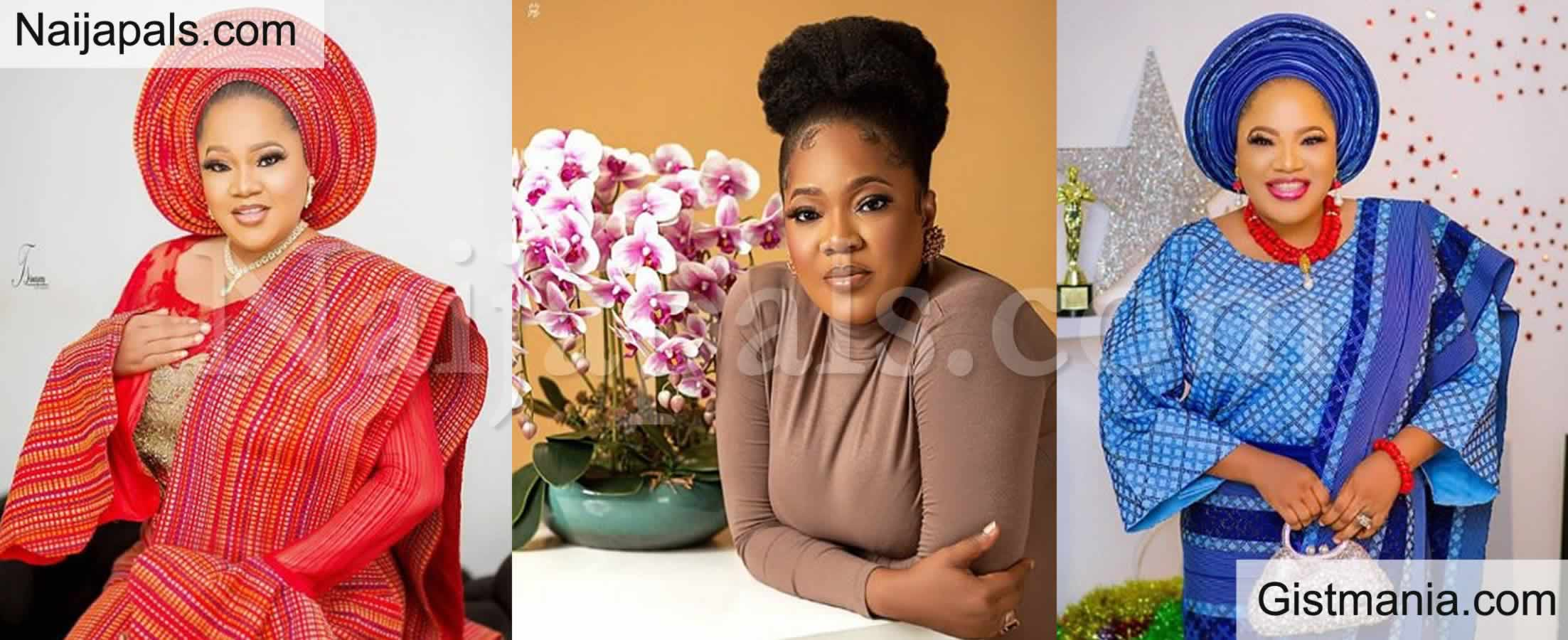 "<img alt='.' class='lazyload' data-src='https://img.gistmania.com/emot/smh.gif' /> <b>""It's Tough To Move On When A Marriage Crashes""</b> - Actress, Toyin Abraham"