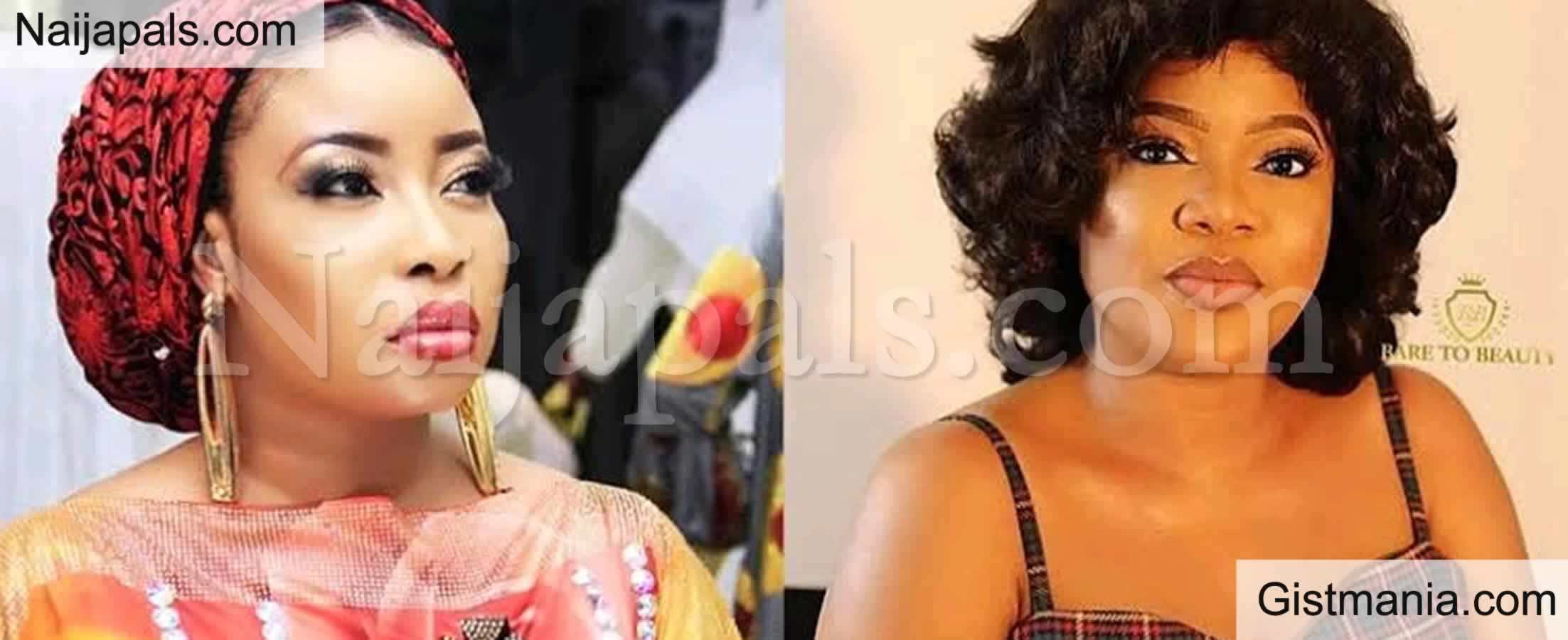 <img alt='.' class='lazyload' data-src='https://img.gistmania.com/emot/video.gif' /> <b>Lizzy Anjorin Reignites Feud With Toyin Abraham as She Claims She Called Her Child An Imbecile</b>