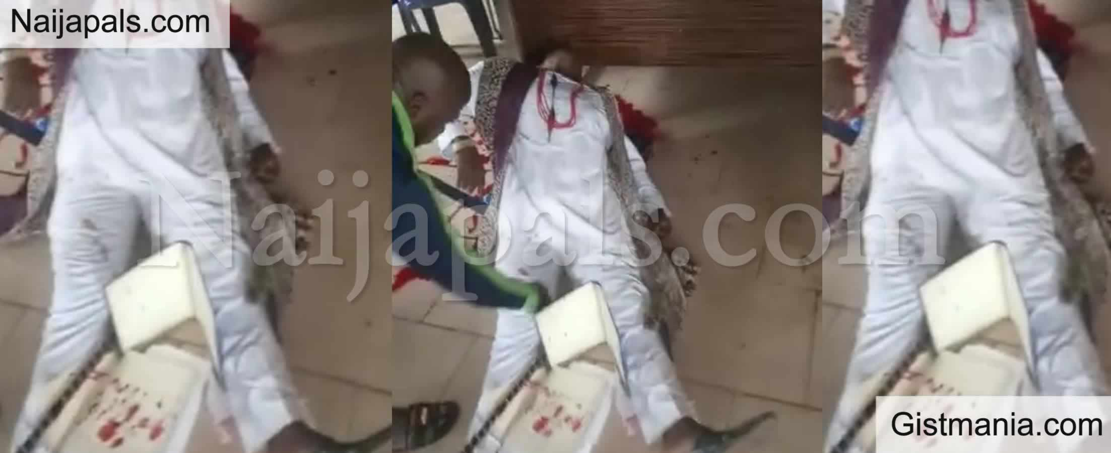 <img alt='.' class='lazyload' data-src='https://img.gistmania.com/emot/cry.gif' /> <b>Three Traditional Rulers Killed After Gunmen Invaded & Opened Fire in a Meeting in Imo</b>