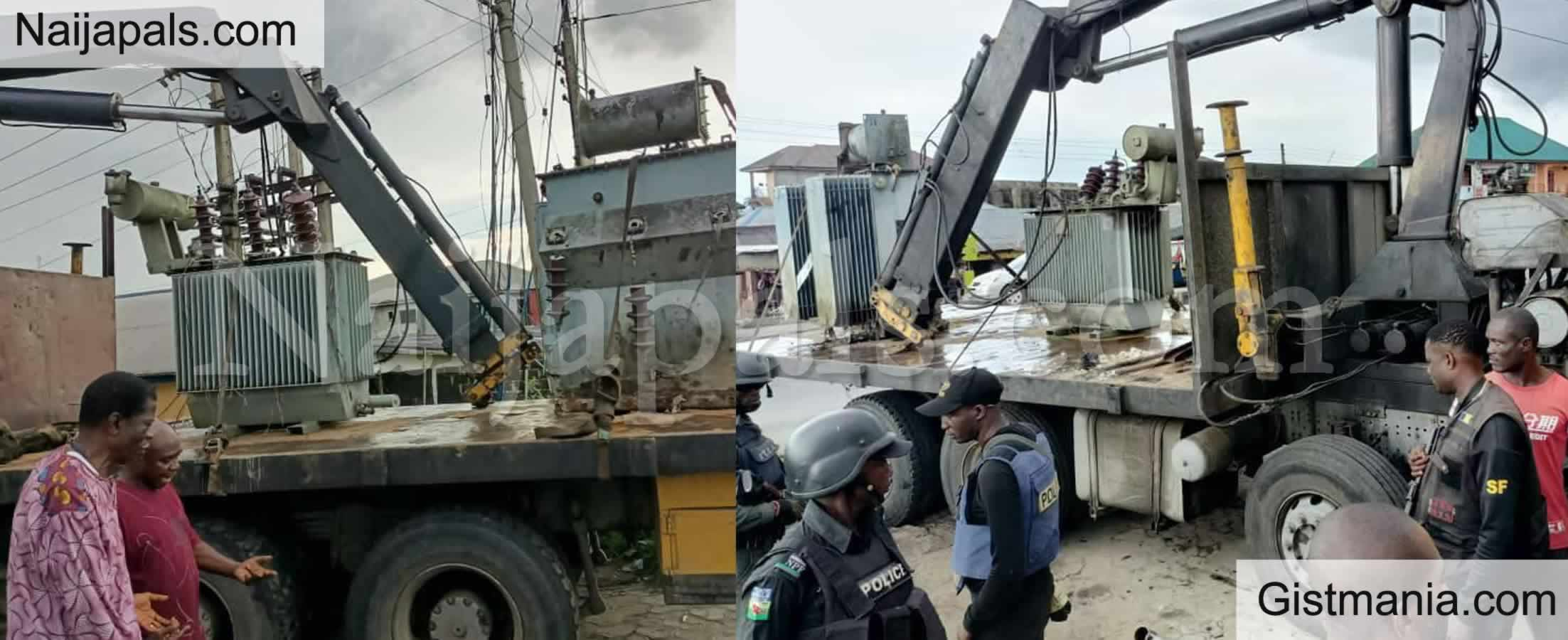 <img alt='.' class='lazyload' data-src='https://img.gistmania.com/emot/news.gif' /> <b>'Prominent Chief' Caught As Police Foil Illegal Sale Of Two Transformers In Bayelsa</b>