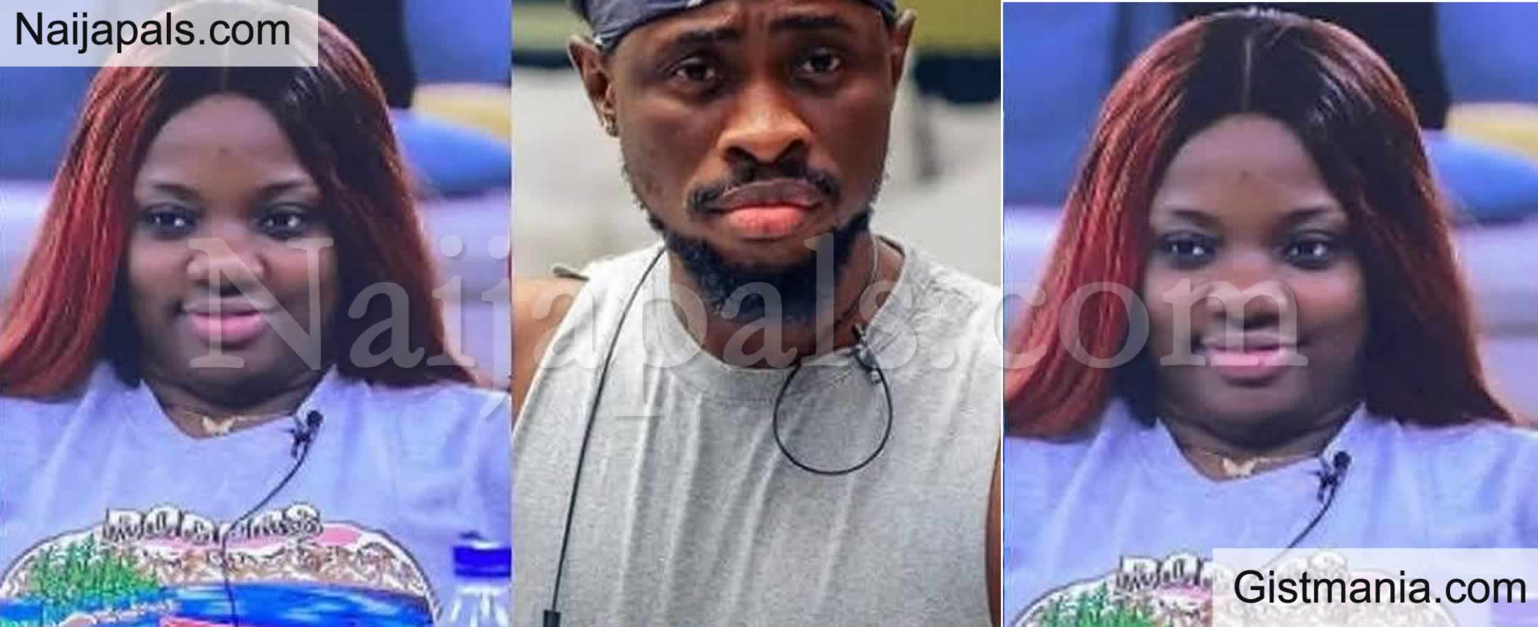 <img alt='.' class='lazyload' data-src='https://img.gistmania.com/emot/smh.gif' /> BBNaija 2020: <b>Trickytee And Dorathy In War Of Words Over Indomie Challenge</b>