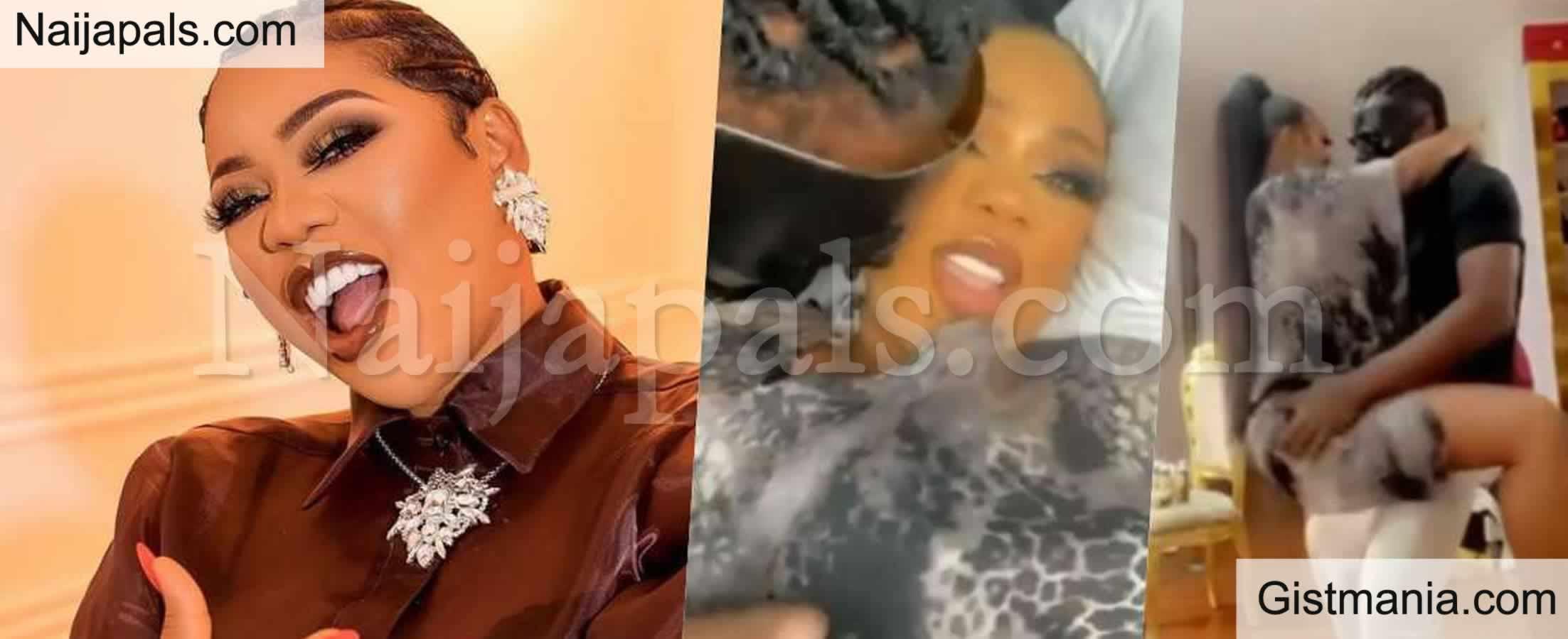 <img alt='.' class='lazyload' data-src='https://img.gistmania.com/emot/video.gif' /> Celebrity Stylist, <b>Toyin Lawani and Her Faceless Husband Showing Some PDA</b> (Video)
