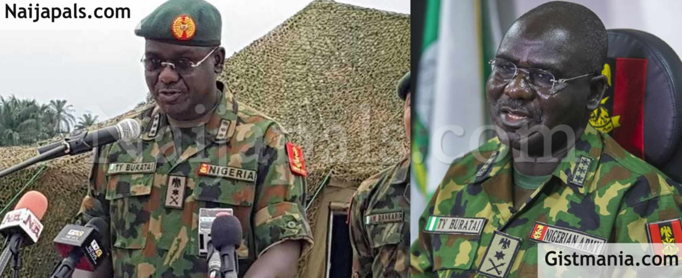 "<img alt='.' class='lazyload' data-src='https://img.gistmania.com/emot/comment.gif' /> <b>""I Was Ambushed 3 Times By Boko Haram, Nigerians Don't Appreciate""</b> – Tukur Buratai"