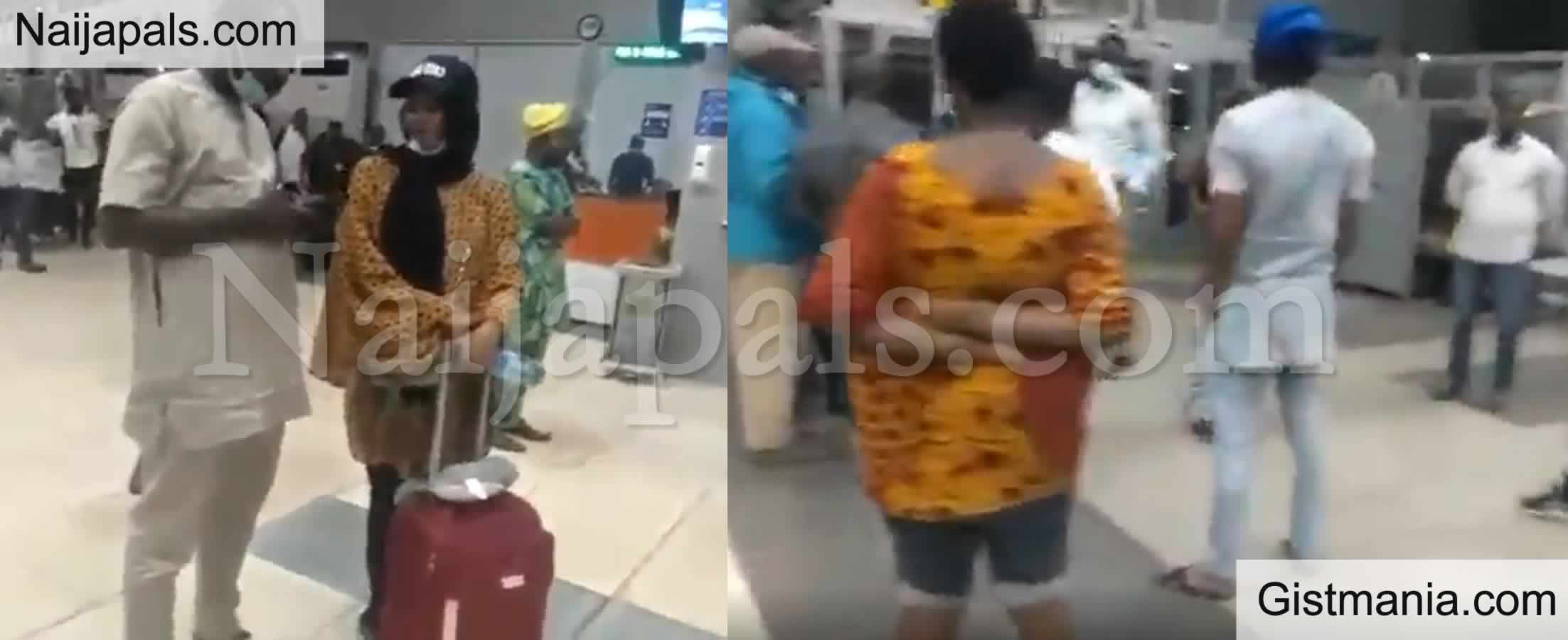 <img alt='.' class='lazyload' data-src='https://img.gistmania.com/emot/news.gif' /> <b>Azman Airline Staff Collapses As Passengers Fight Over Cancelled Flight To Lagos</b>