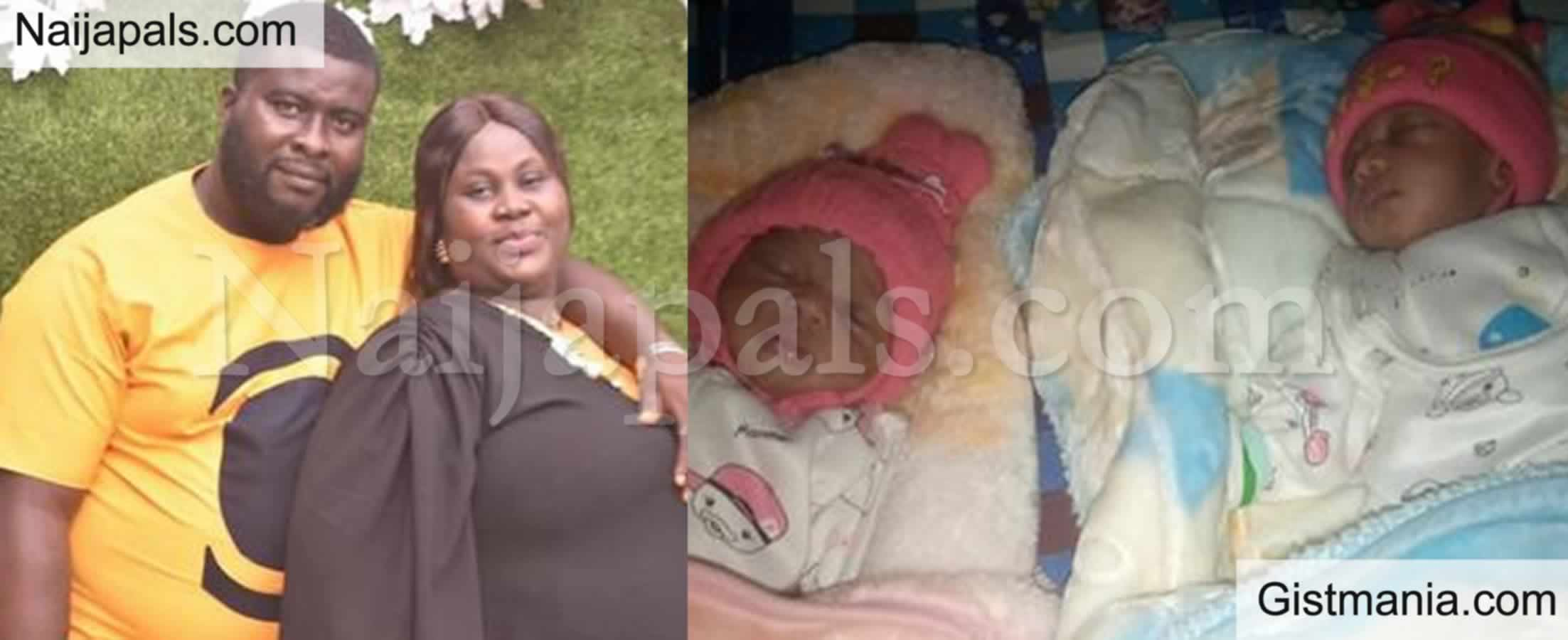 <img alt='.' class='lazyload' data-src='https://img.gistmania.com/emot/thumbs_up.gif' /> Nice One! <b>Nigerian Woman Welcomes Twins After 9 years Of Waiting </b>(Photos)