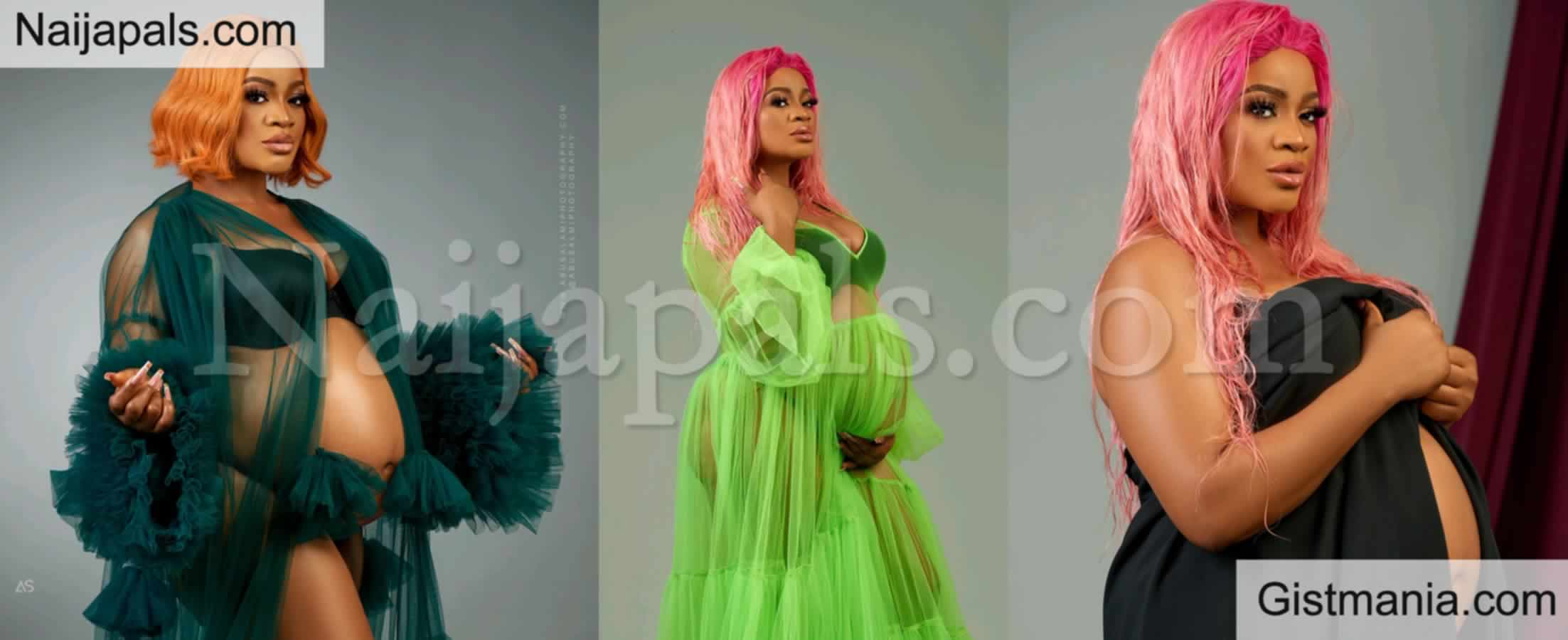 <img alt='.' class='lazyload' data-src='https://img.gistmania.com/emot/cake.png' /> <b>Actress, Uche Ogbodo Shows Of Her Baby Bump To Celebrates Her Birthday In These Photos</b>