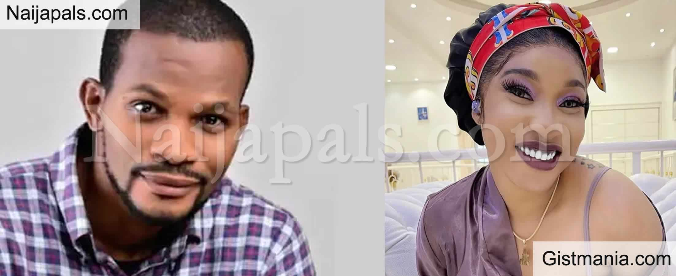 <img alt='.' class='lazyload' data-src='https://img.gistmania.com/emot/comment.gif' /> VIDEO: <b>Controversial Nollywood Actor, Uche Maduagwu Proposes To Tonto Dikeh</b>
