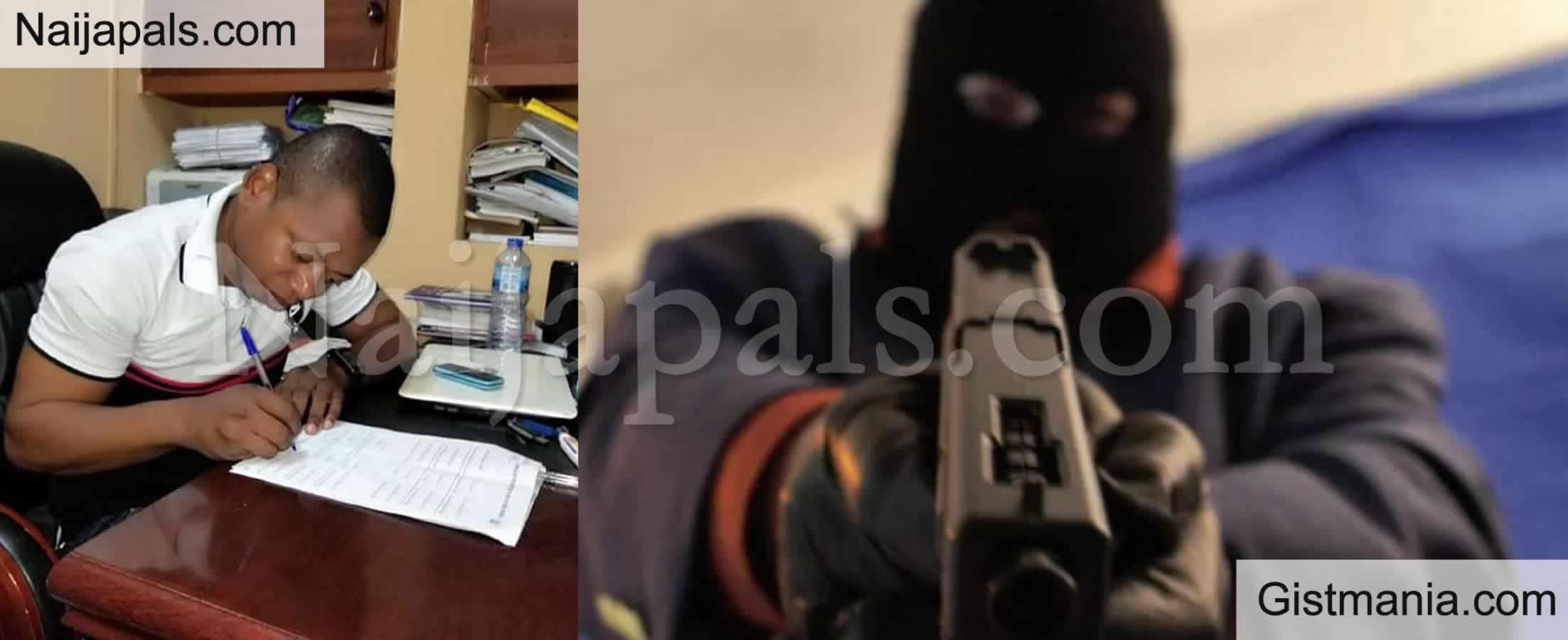 <img alt='.' class='lazyload' data-src='https://img.gistmania.com/emot/comment.gif' /> <b>33-Year-Old UNIBEN Lecturer Shot Dead By Unknown Gunmen in Benin</b>