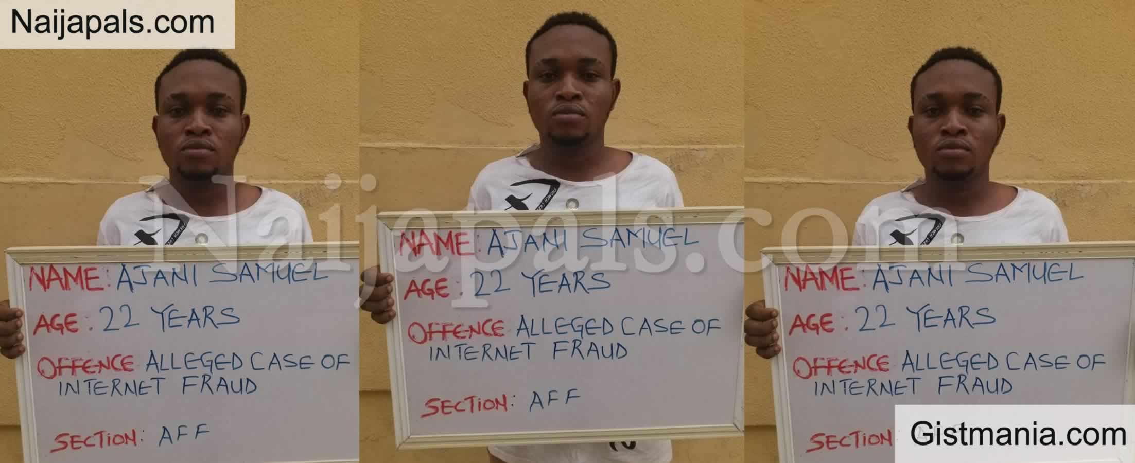 <img alt='.' class='lazyload' data-src='https://img.gistmania.com/emot/comment.gif' /> <b>Unilorin Final Year Student, Ajani Samuel Jailed Over Cybercrime</b>