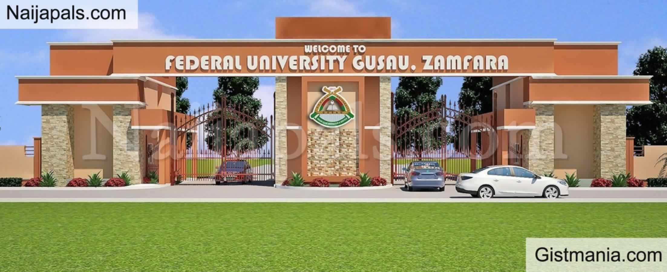 <img alt='.' class='lazyload' data-src='https://img.gistmania.com/emot/news.gif' /> JUST IN: <b>Federal University Of Gusau, Zamfara Debunks Report Of Attack By Bandits</b>