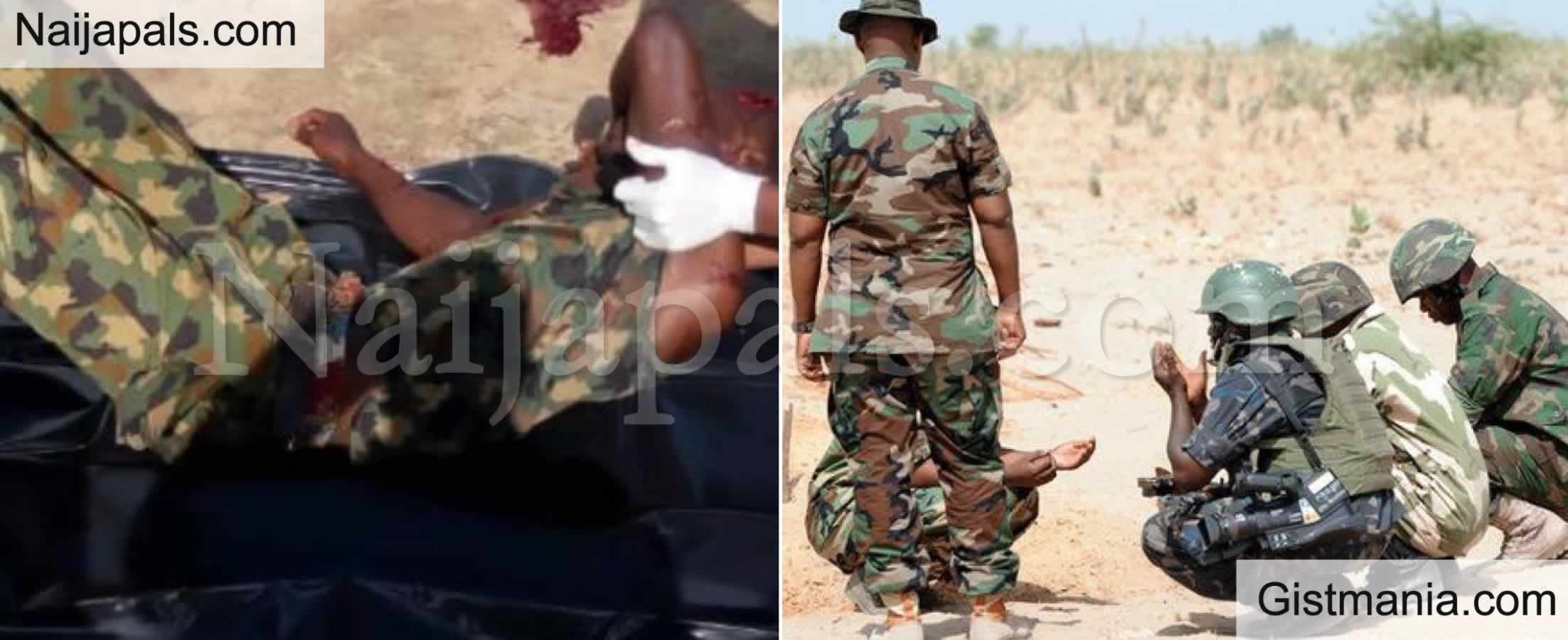 <img alt='.' class='lazyload' data-src='https://img.gistmania.com/emot/news.gif' /> <b>Mass Burial In Benue As Nigerian Army Buries 12 Slain Officers Killed By Militia Youth</b>