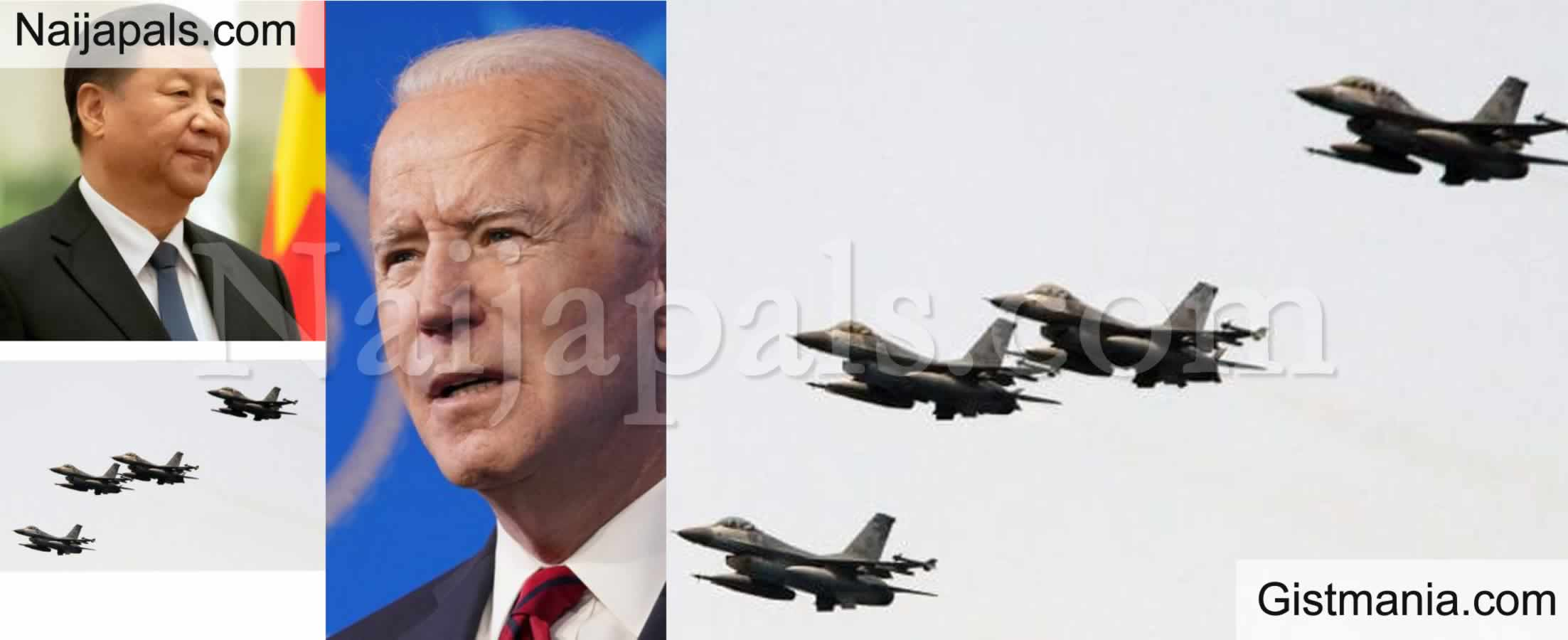 <img alt='.' class='lazyload' data-src='https://img.gistmania.com/emot/comment.gif' /> <b>China Tests Biden's Foreign Policy, Flies About 28 Warplanes Close To Taiwan</b>