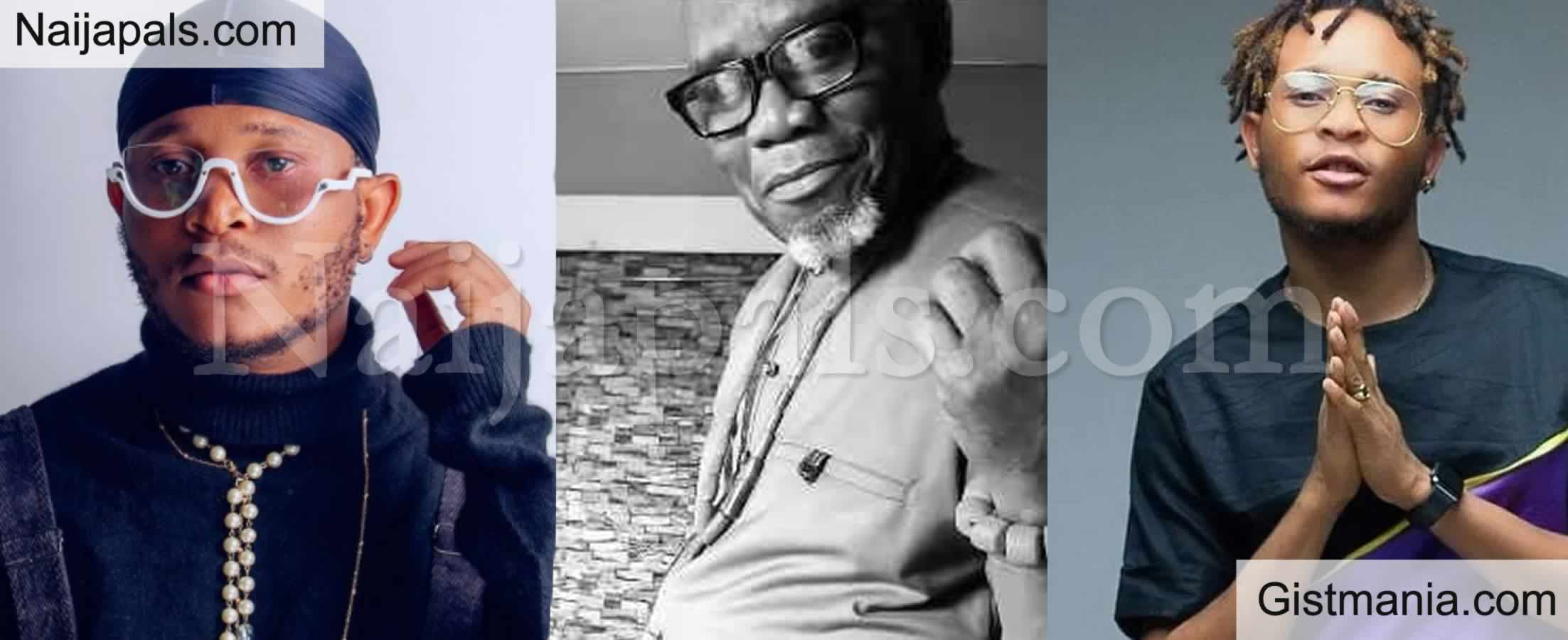 <img alt='.' class='lazyload' data-src='https://img.gistmania.com/emot/broken_heart.gif' /> <b>Nigerian Singer And Rapper, Viktor Mourns Death Of His Dad</b>