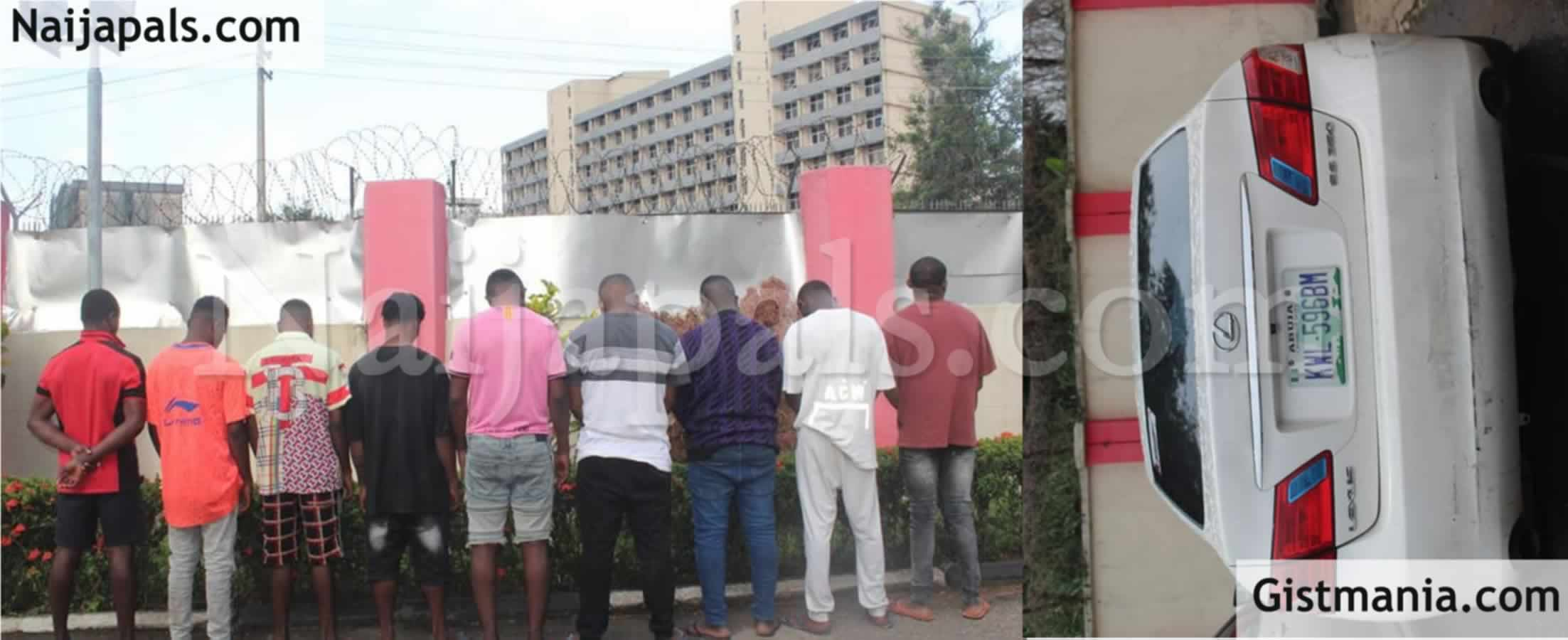 <img alt='.' class='lazyload' data-src='https://img.gistmania.com/emot/news.gif' /> <b>EFCC Arrests Nine Suspected Internet Fraudsters In Warri</b> (Photo)