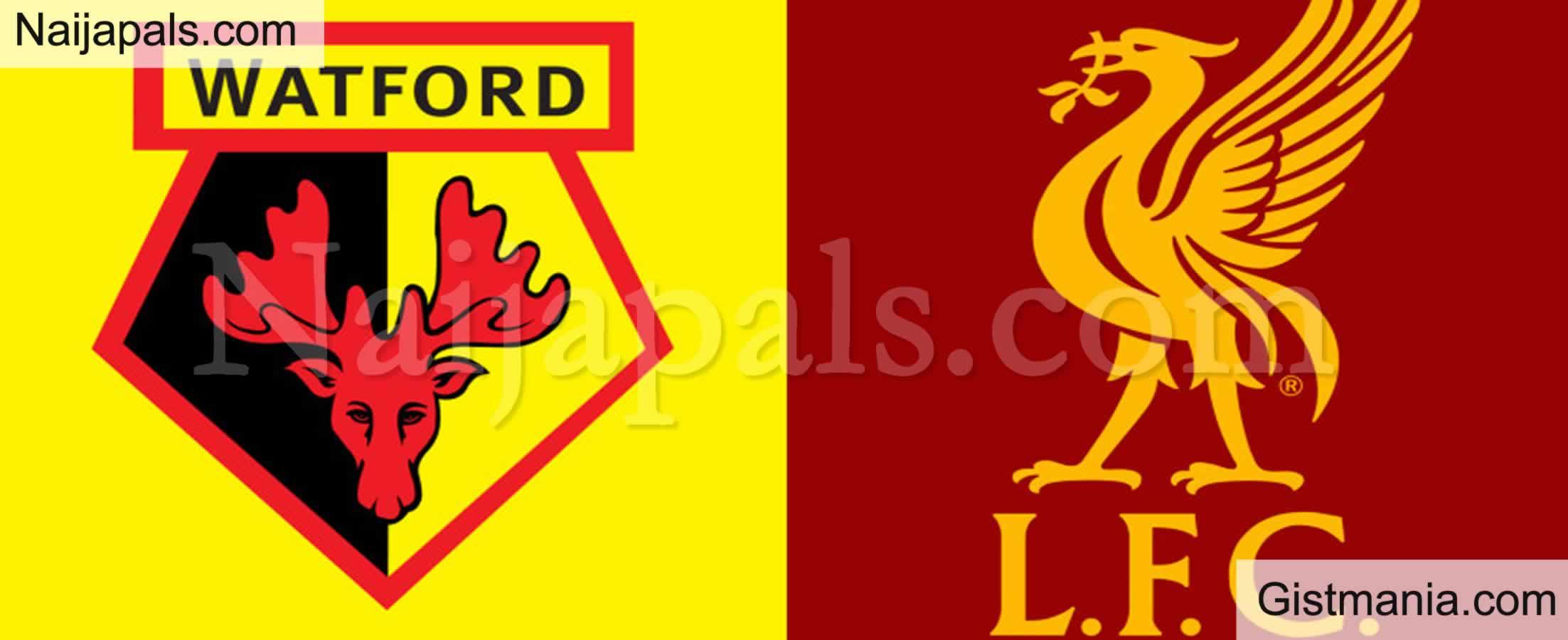 <img alt='.' class='lazyload' data-src='https://img.gistmania.com/emot/soccer.gif' /> <b>Watford v Liverpool : English Premier League Match, Team News, Goal Scorers and Stats</b>