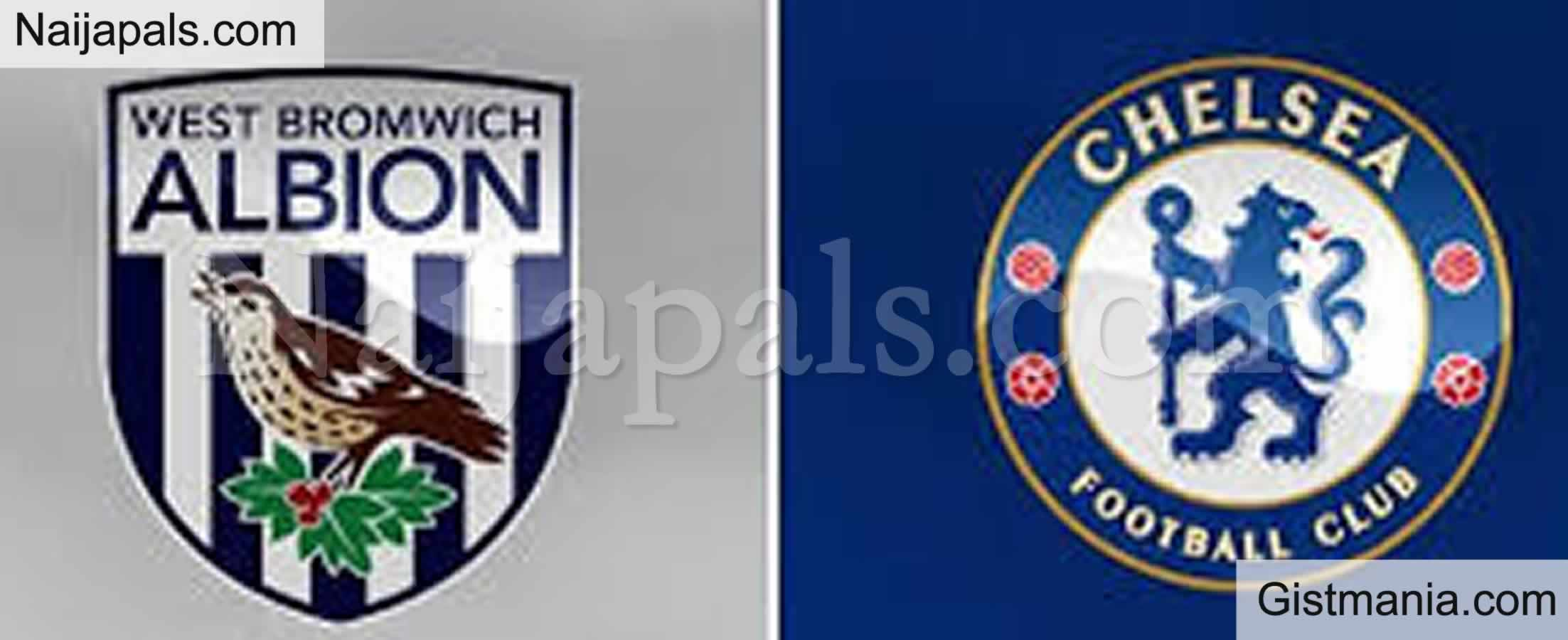 <img alt='.' class='lazyload' data-src='https://img.gistmania.com/emot/soccer.gif' /> <b>West Brom v Chelsea : English Premier League Match, Team News, Goal Scorers and Stats</b>