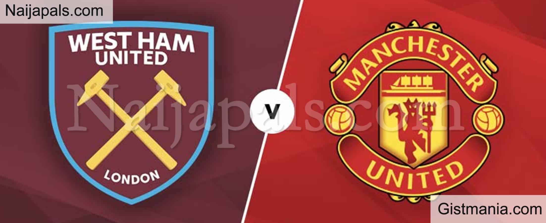 <img alt='.' class='lazyload' data-src='https://img.gistmania.com/emot/soccer.gif' /> <b>West Ham v Manchester United : English Premier League Match, Team News, Goal Scorers and Stats</b>