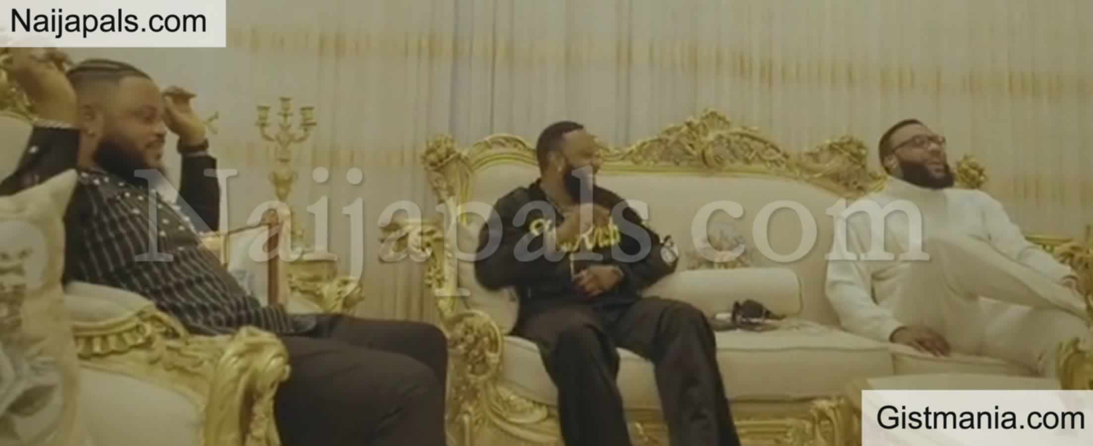 <img alt='.' class='lazyload' data-src='https://img.gistmania.com/emot/video.gif' /> Check Out <b>Moment Whitemoney Linked Up With E Money And Kcee At Their Mansion </b>(VIDEO)