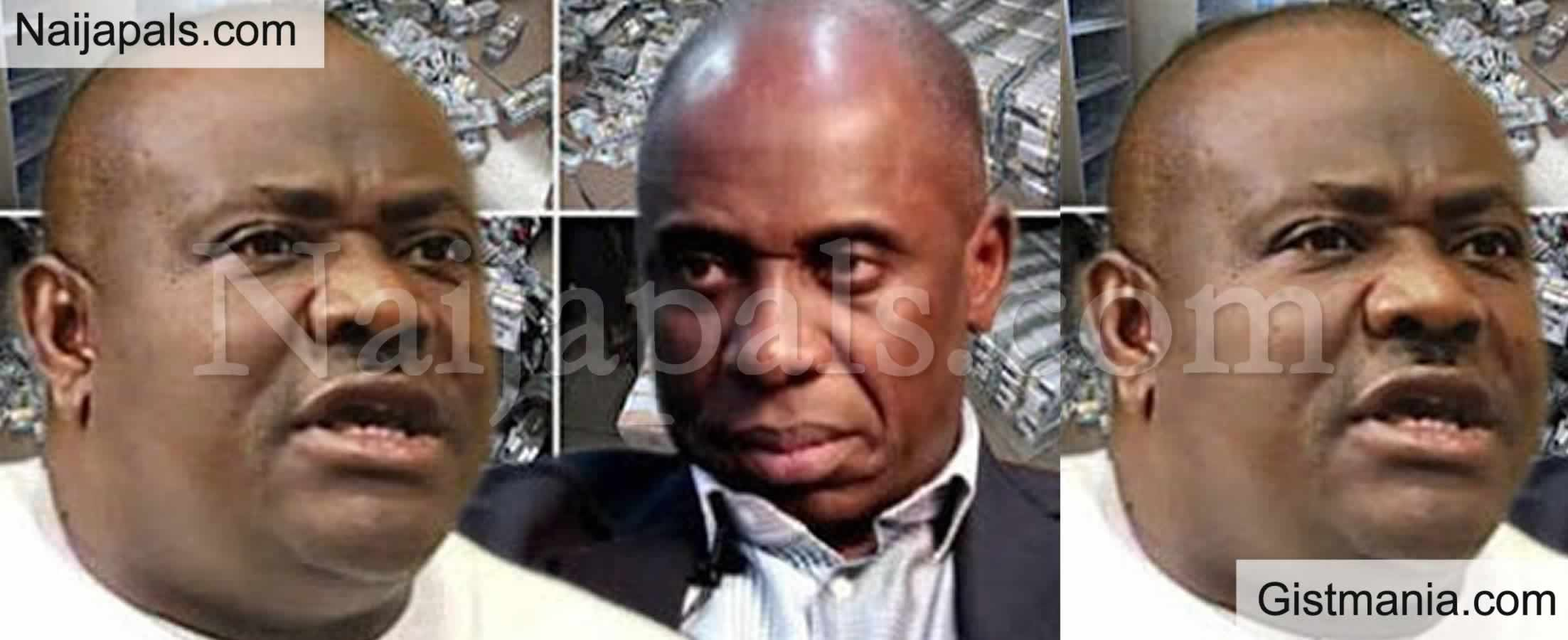 <img alt='.' class='lazyload' data-src='https://img.gistmania.com/emot/comment.gif' /> Again! <b>Nyesom Wike And Rotimi Amaechi Engaged In A Verbal Fight At Karibi-Whyte's Burial</b>