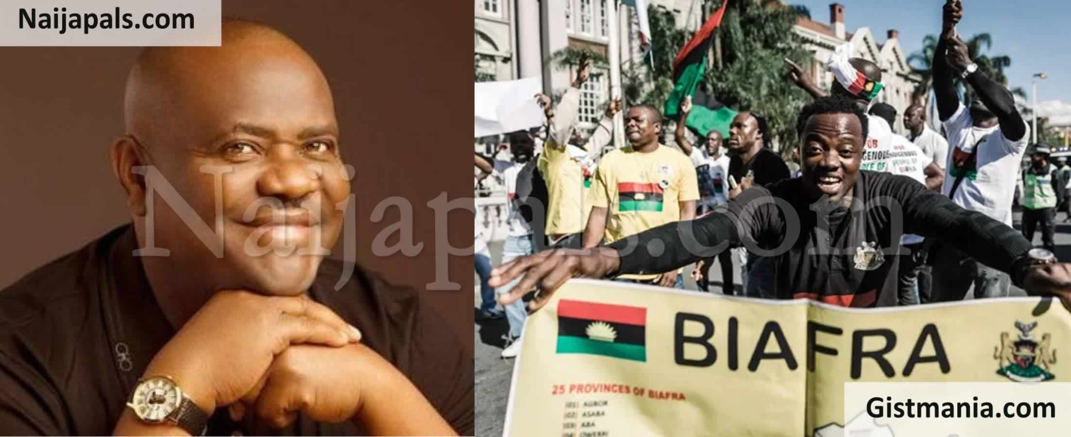 <img alt='.' class='lazyload' data-src='https://img.gistmania.com/emot/news.gif' /> <b>Gov. Nyesom Wike Places N50m Bounty On Suspected IPOB Ringleader, Orders Arrest Of Members</b>