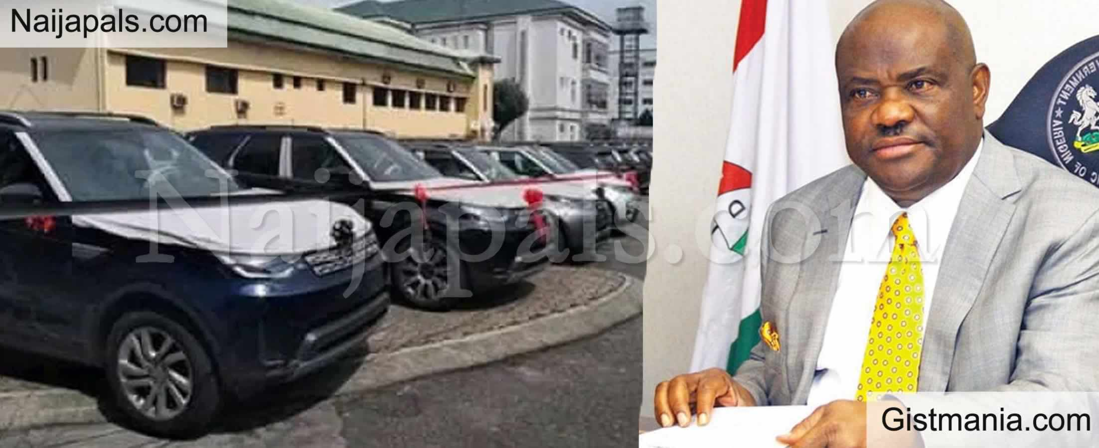 <img alt='.' class='lazyload' data-src='https://img.gistmania.com/emot/comment.gif' /> <b>Rivers State Gov. Wike Distributes 41 New Range Rover SUV to Serving Judges</b> To Curb Corruption
