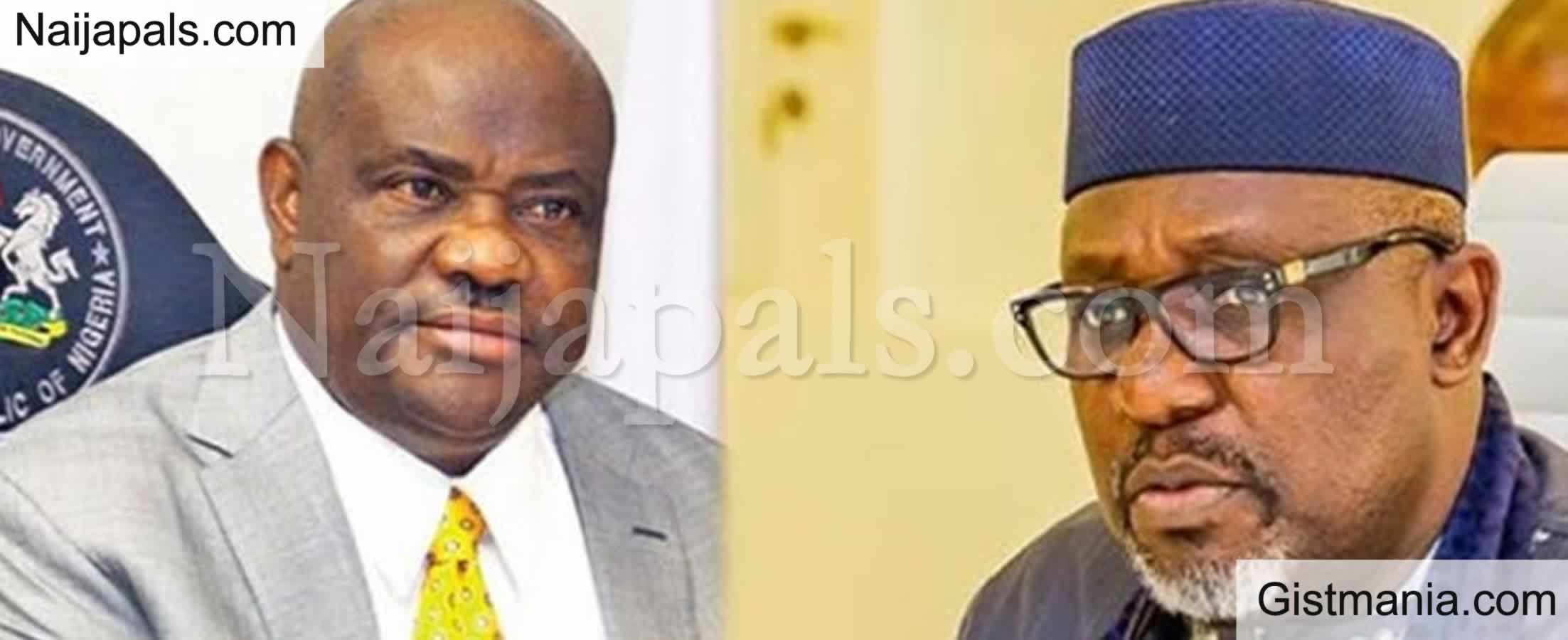 <img alt='.' class='lazyload' data-src='https://img.gistmania.com/emot/comment.gif' /><b>All The Governors Have Deserted Owelle – Wike Encourages Okorocha Amidst Political Prosecution</b>