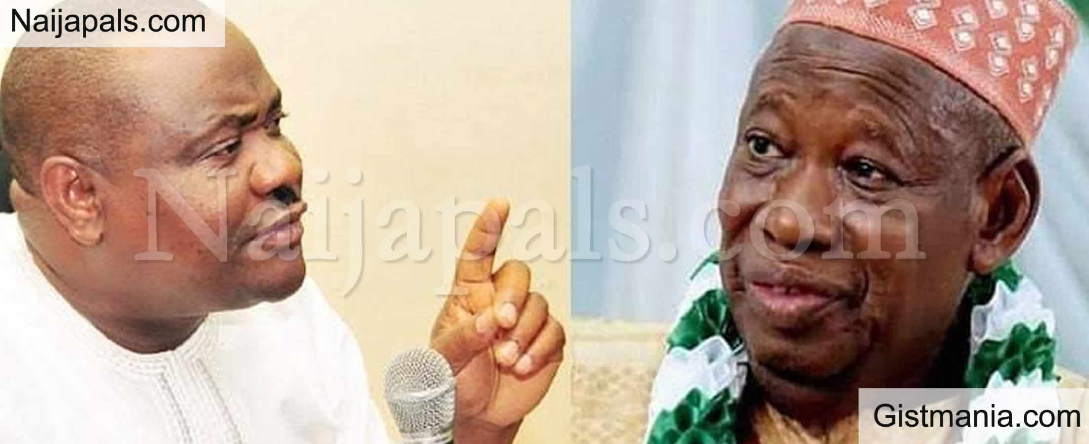 <img alt='.' class='lazyload' data-src='https://img.gistmania.com/emot/comment.gif' /> <b>We 'll Spend Your Dollars Before Sending You Into Coma - Wike Fires Warning To Ganduje Over Edo</b>